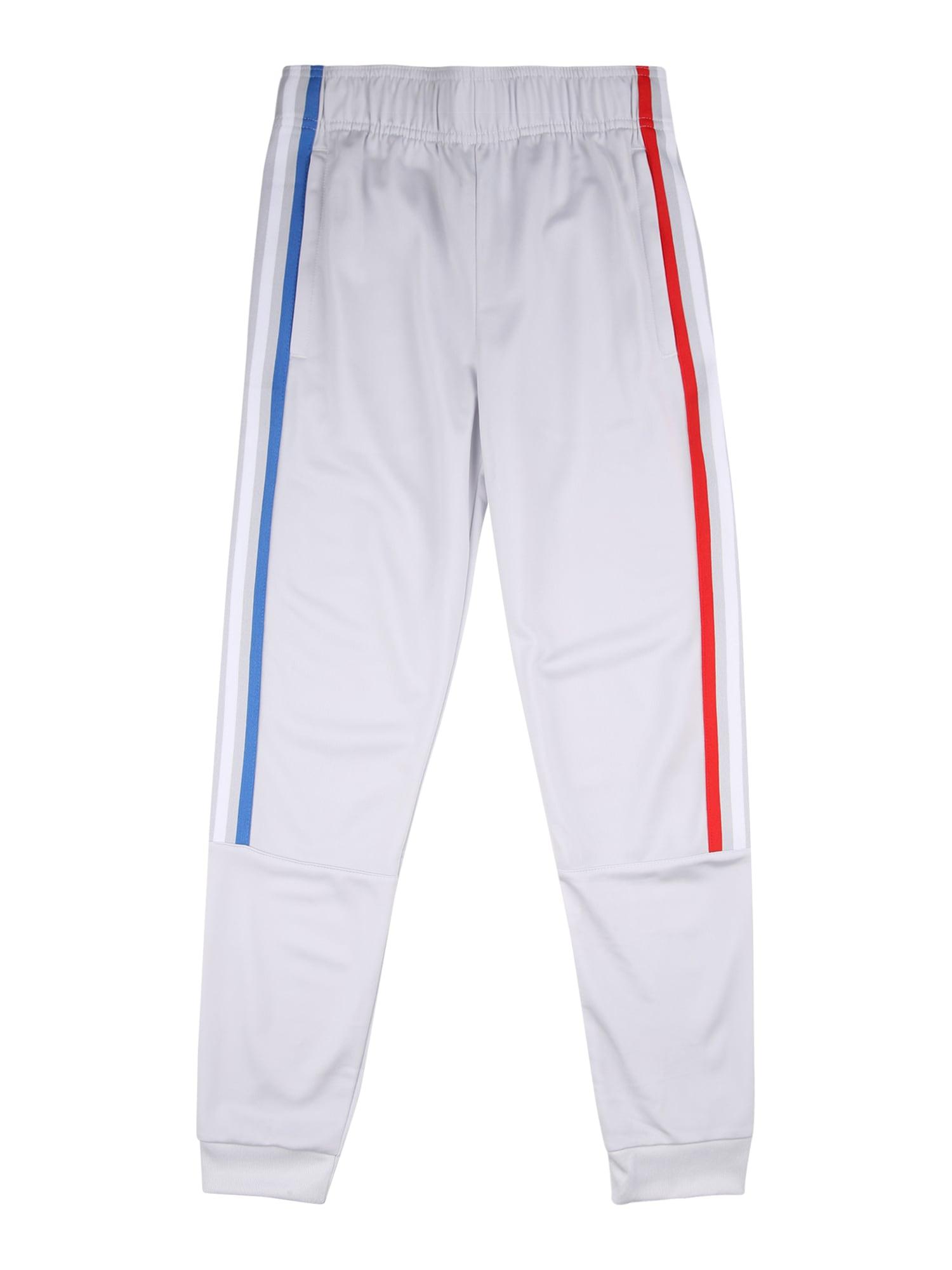 ADIDAS ORIGINALS Kalhoty  světle šedá / červená / modrá / bílá