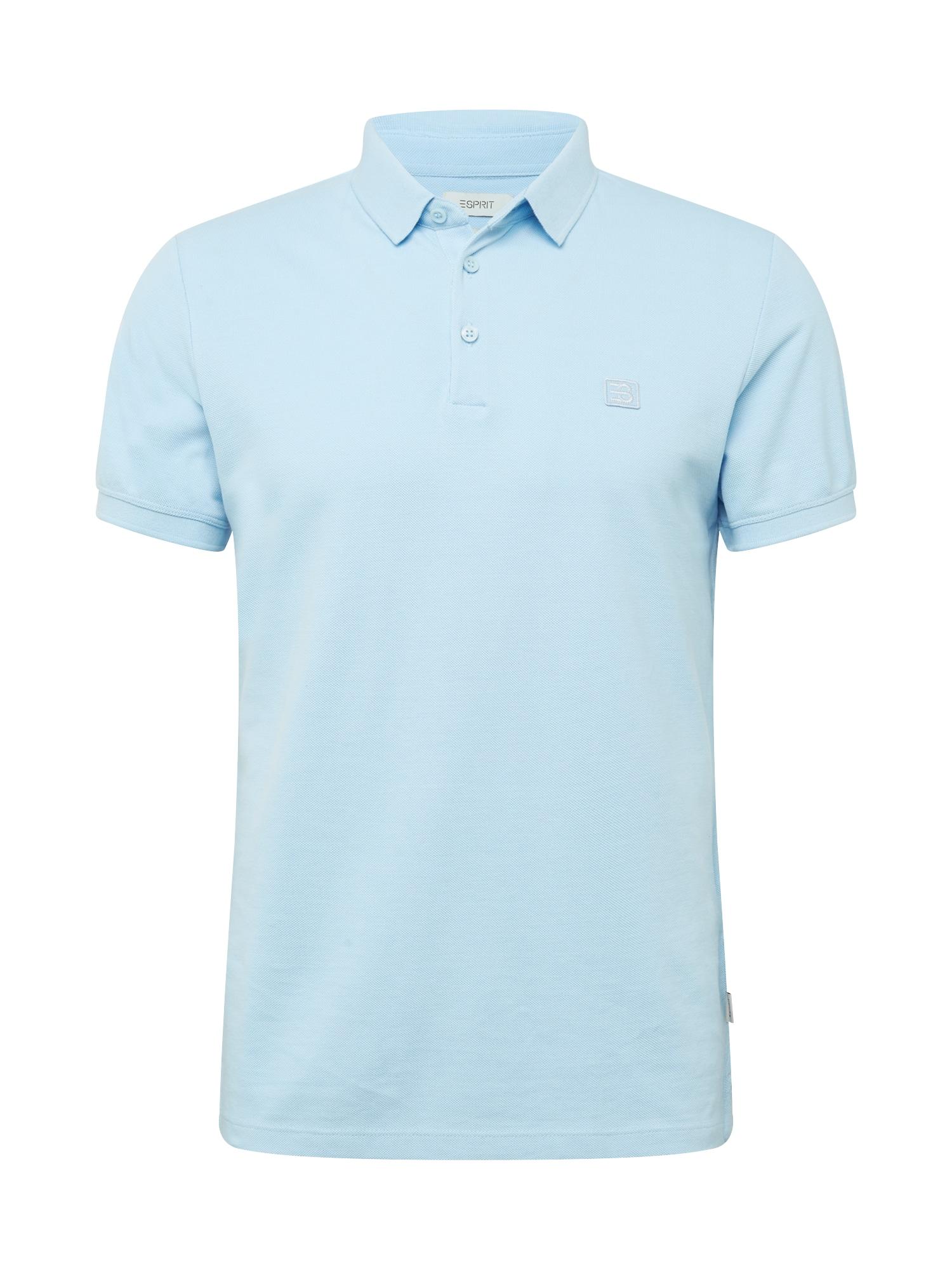 ESPRIT Marškinėliai šviesiai mėlyna