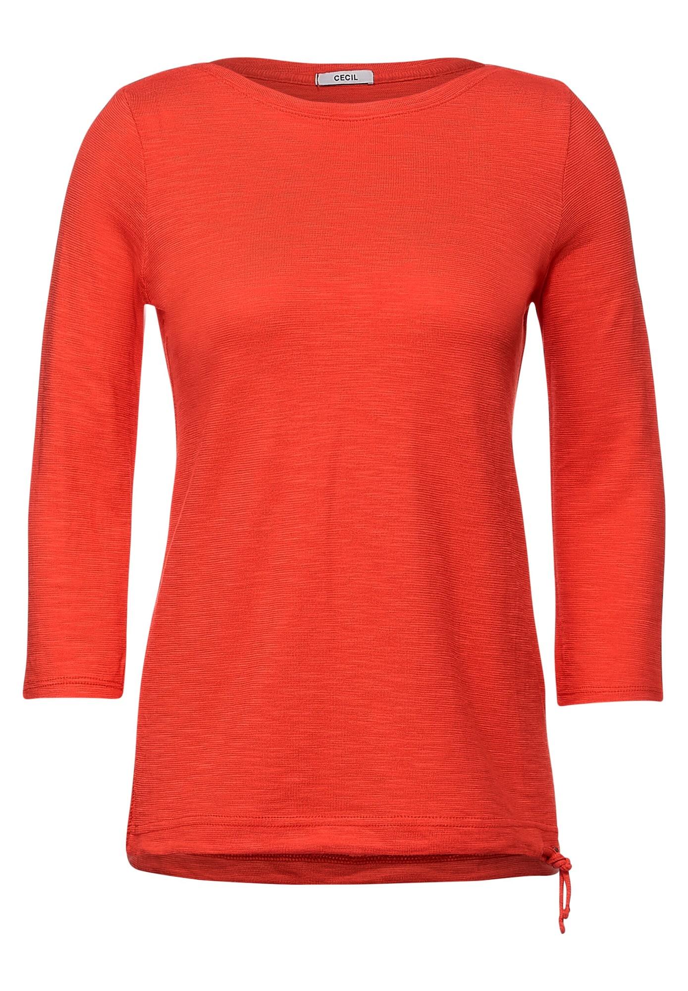CECIL Marškinėliai oranžinė