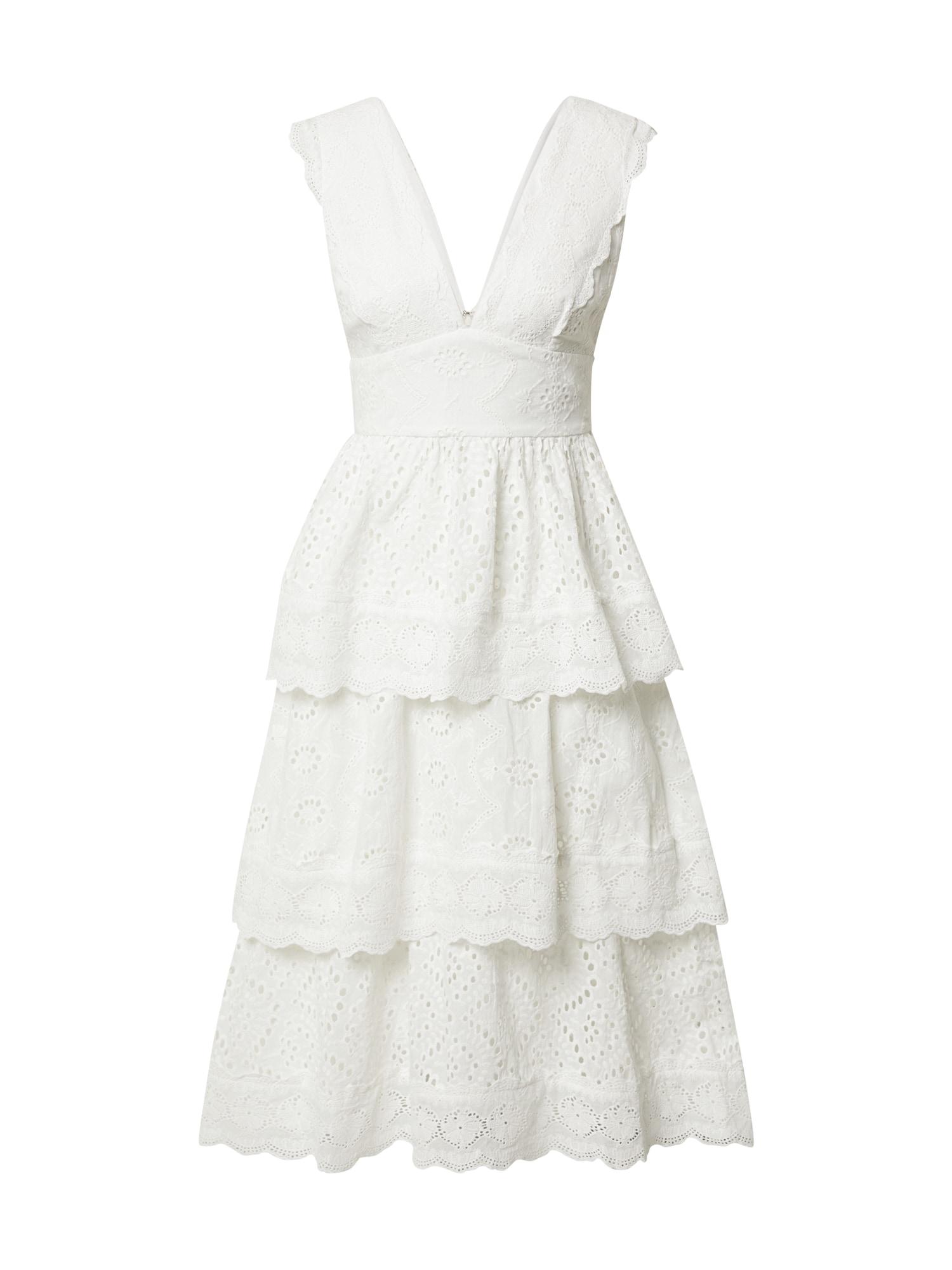 True Decadence Kokteilinė suknelė balta