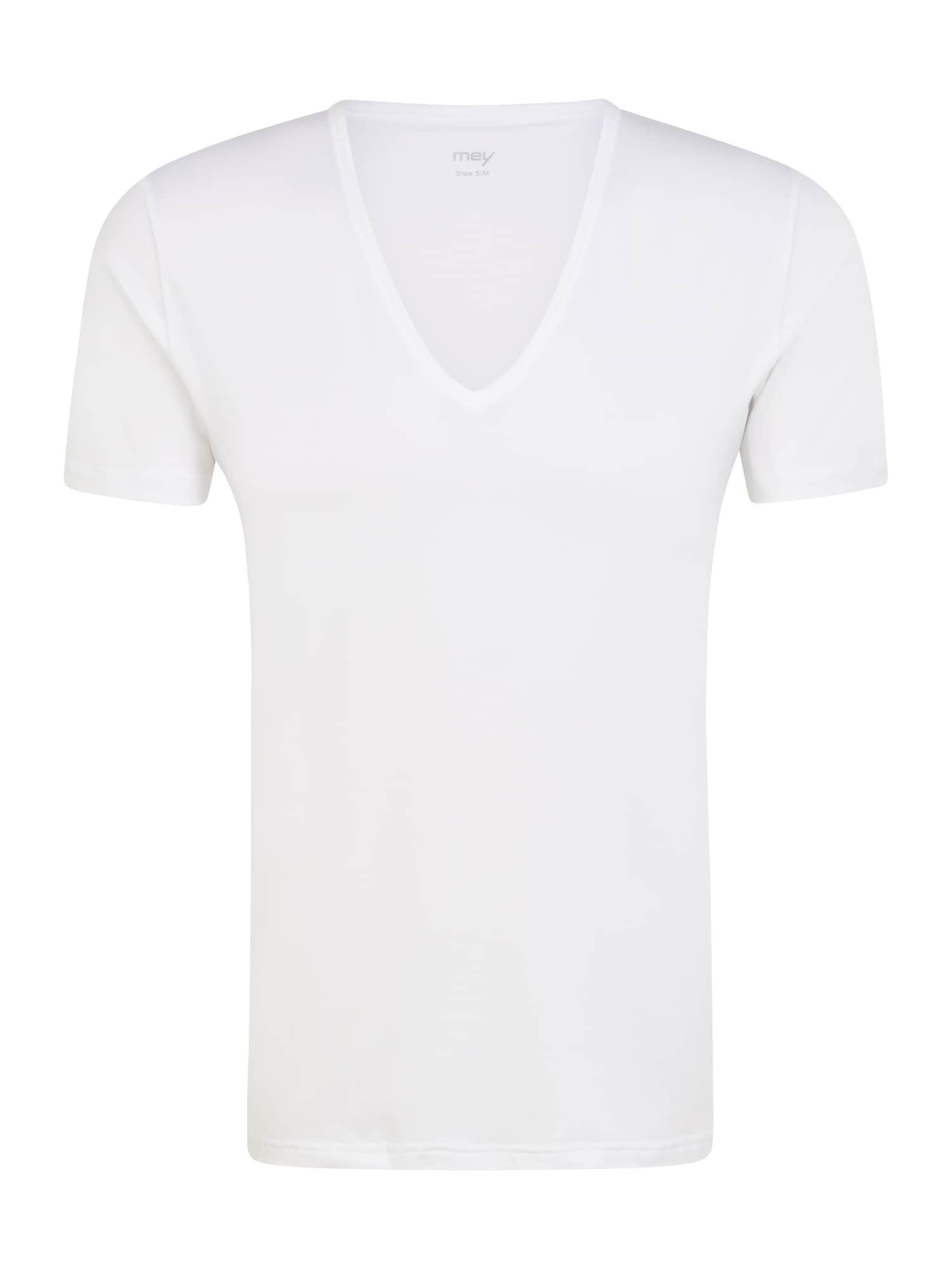 Mey Apatiniai marškinėliai balkšva