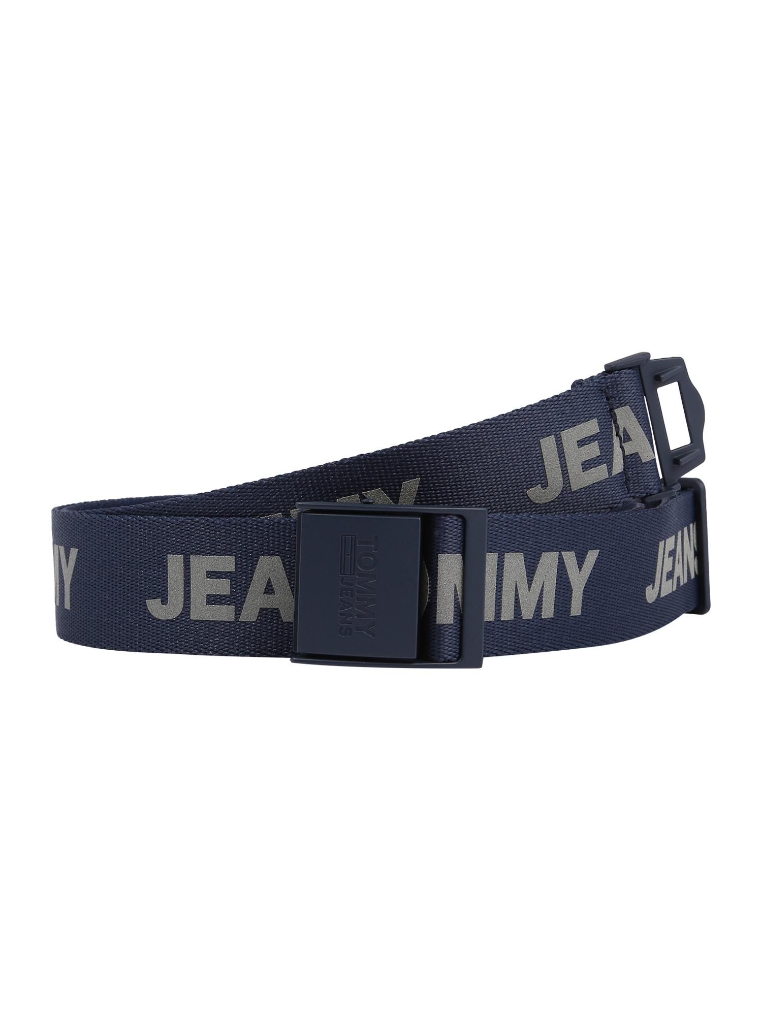 Tommy Jeans Diržas tamsiai mėlyna / pilka