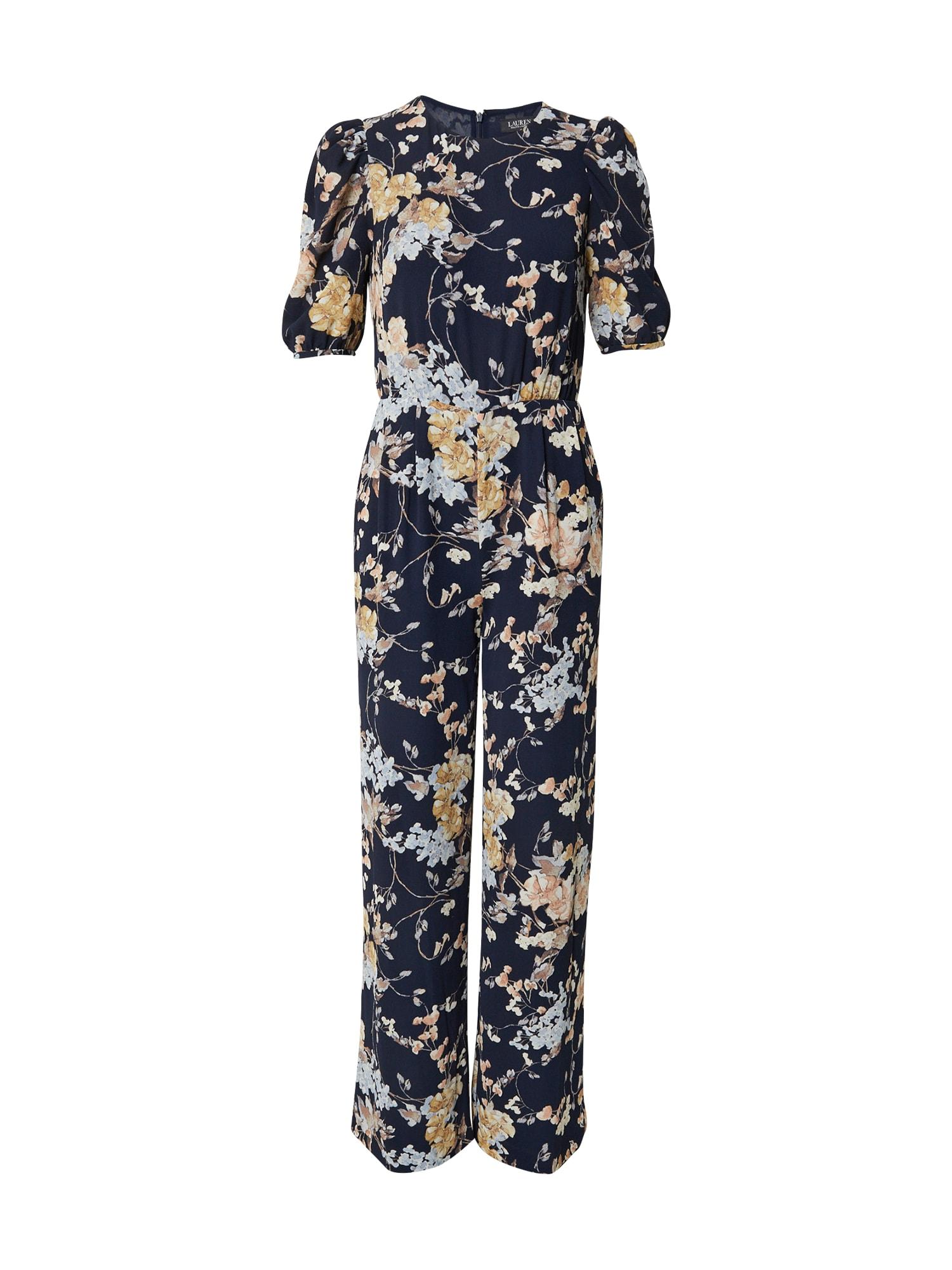 Lauren Ralph Lauren Overal 'TATUM'  námořnická modř / světlemodrá / béžová / růžová