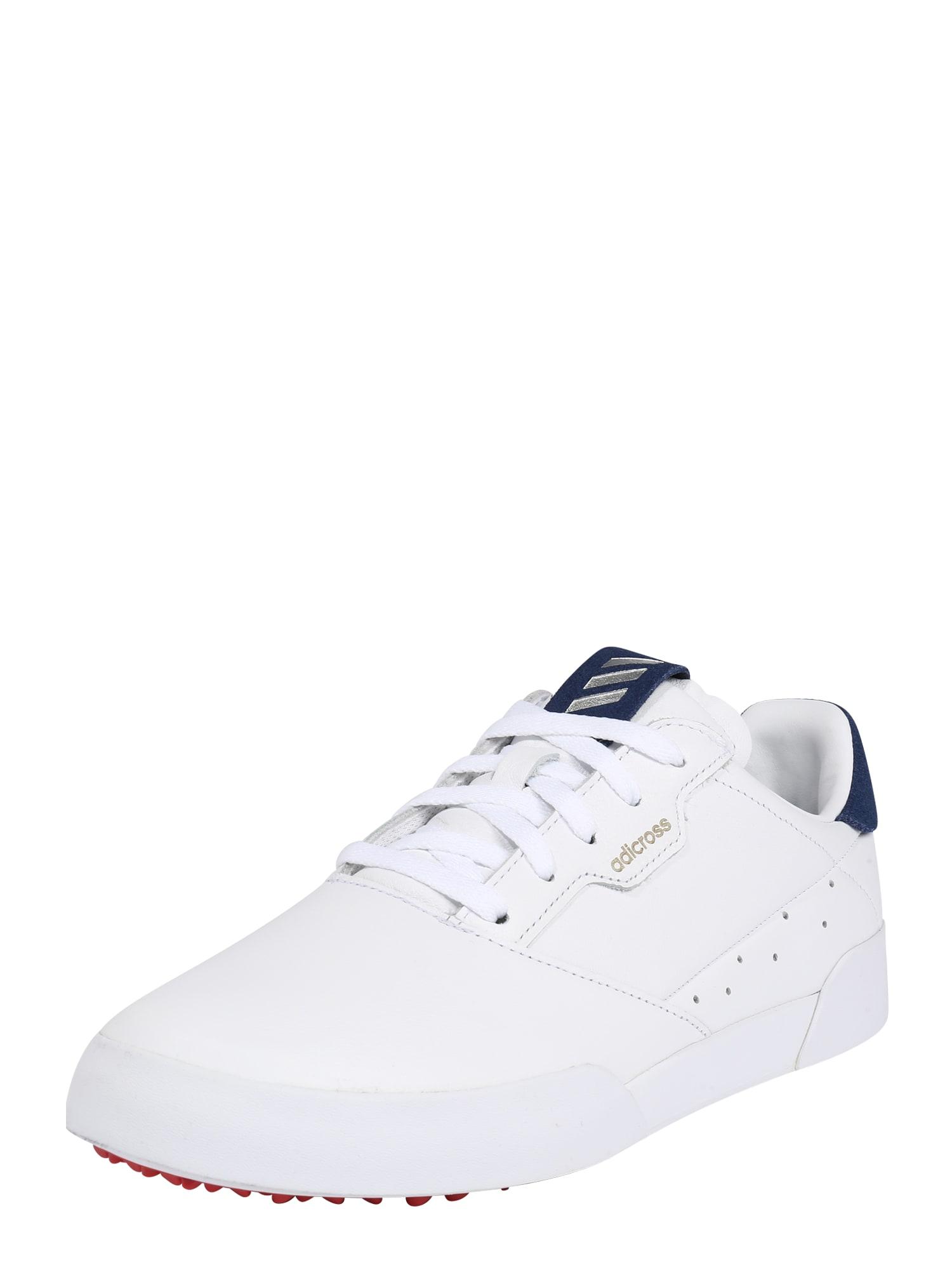adidas Golf Sportovní boty 'RETRO'  stříbrná / bílá / námořnická modř