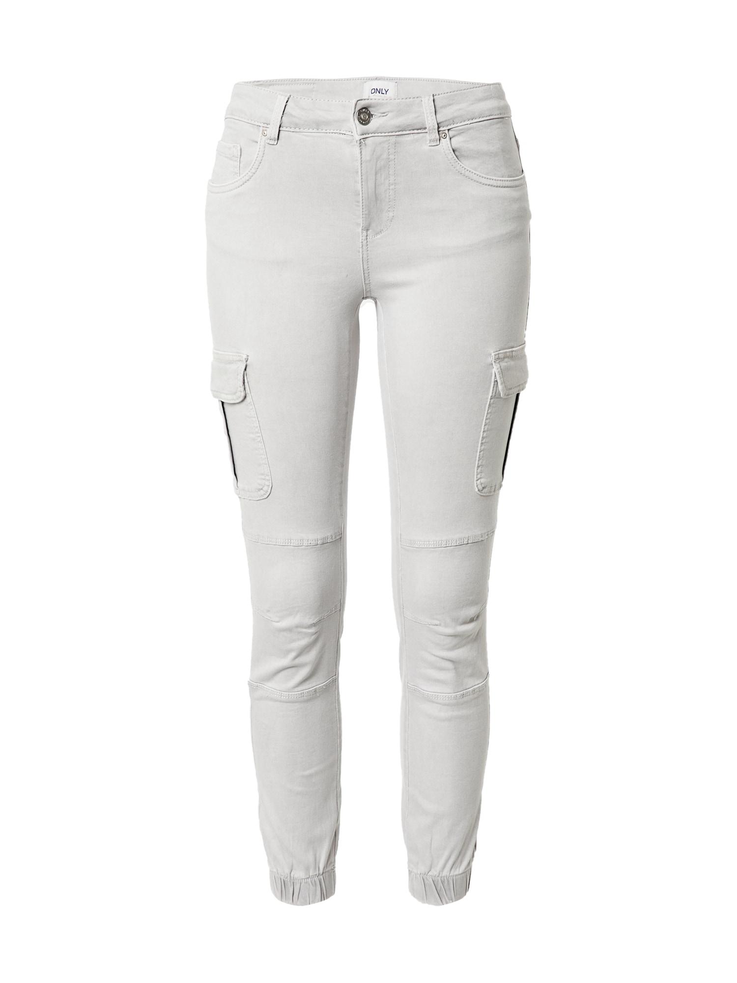 ONLY Darbinio stiliaus džinsai šviesiai pilka