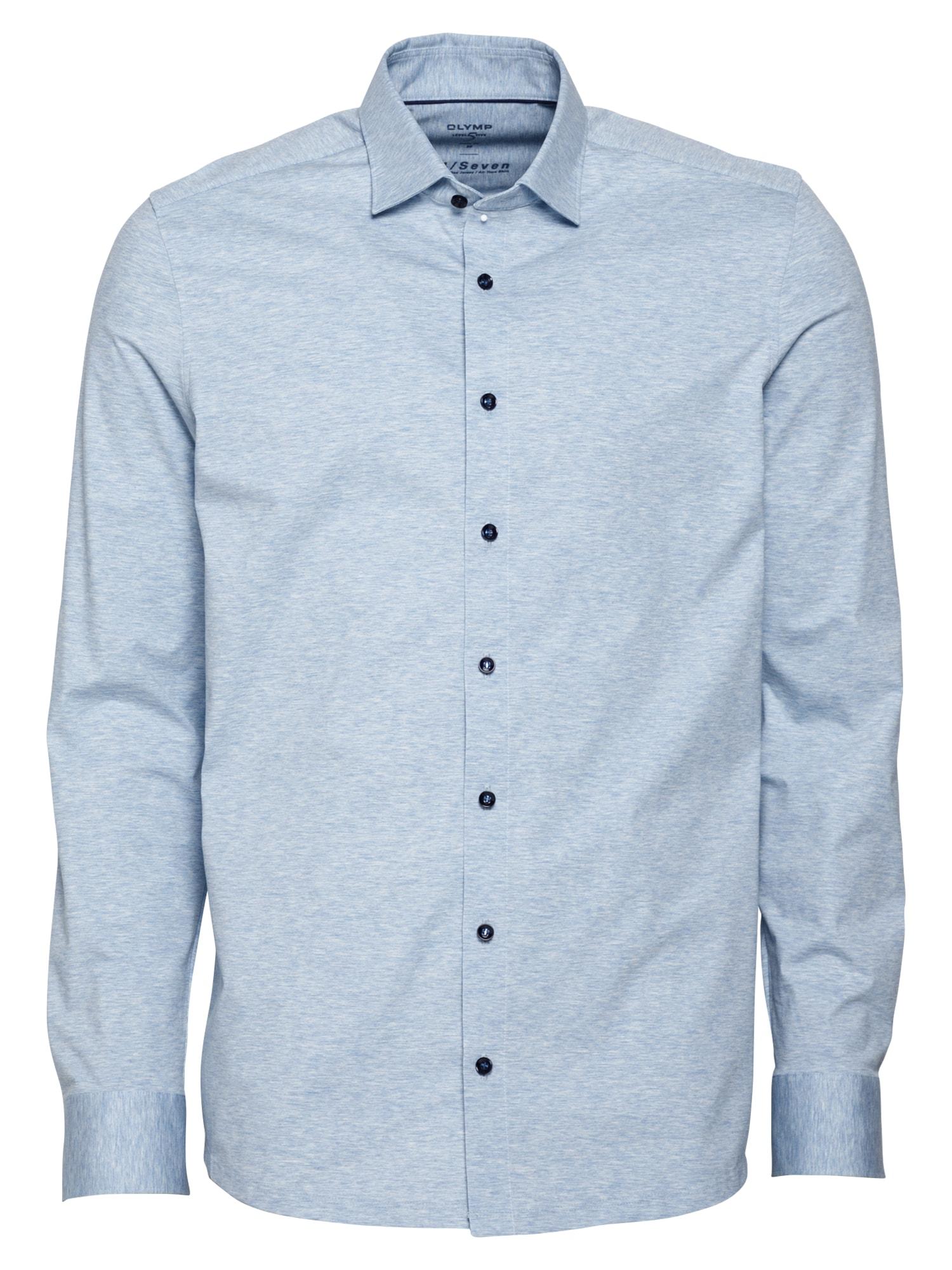 OLYMP Marškiniai šviesiai mėlyna