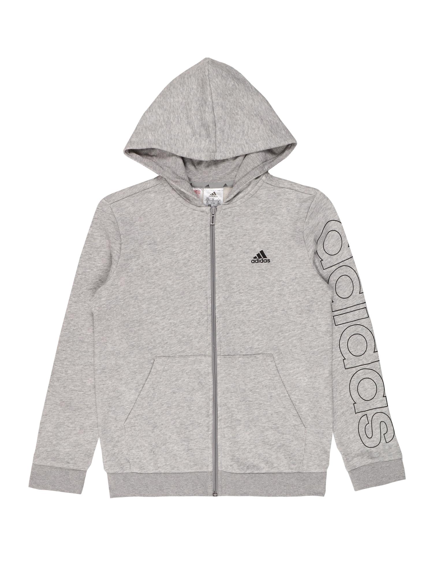 ADIDAS PERFORMANCE Sportinis džemperis pilka