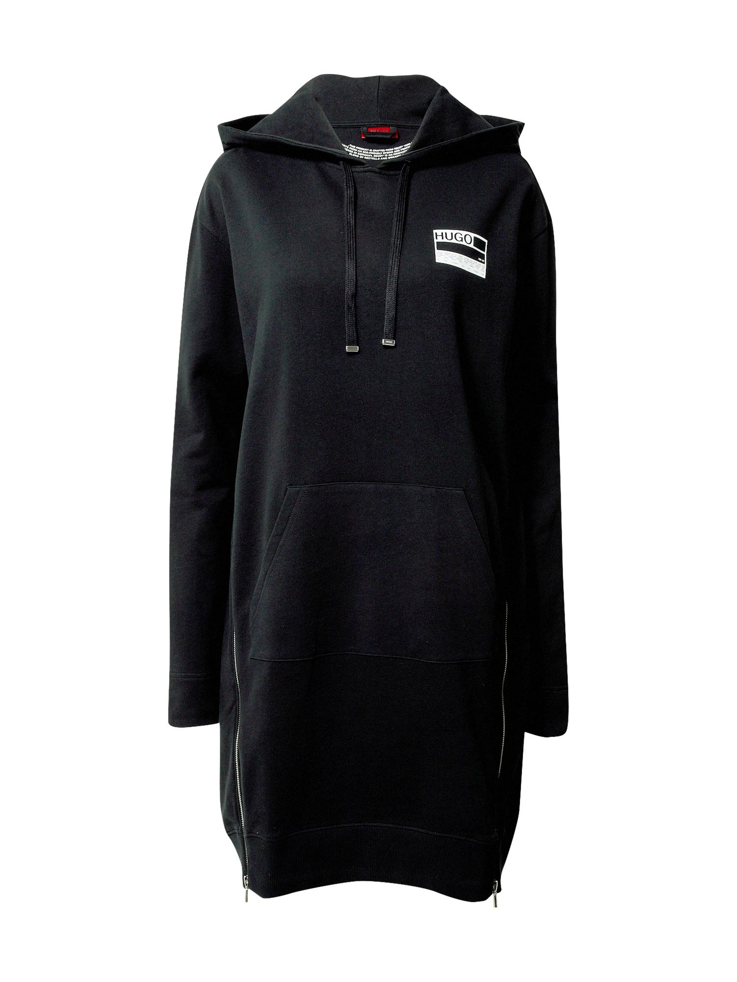HUGO Šaty  černá
