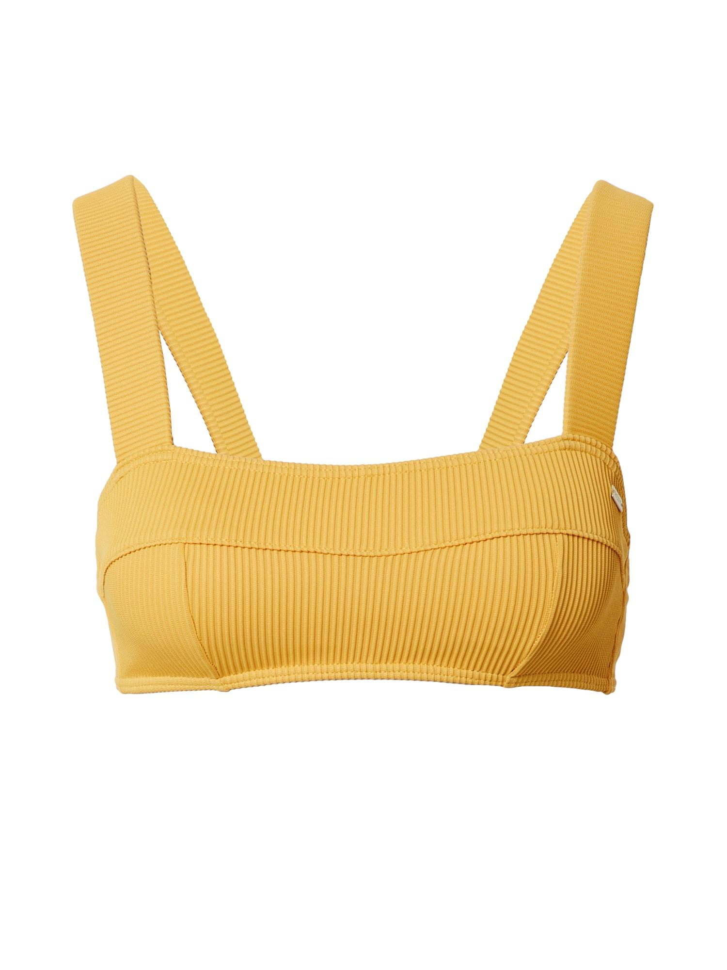 ROXY Bikinio viršutinė dalis aukso geltonumo spalva