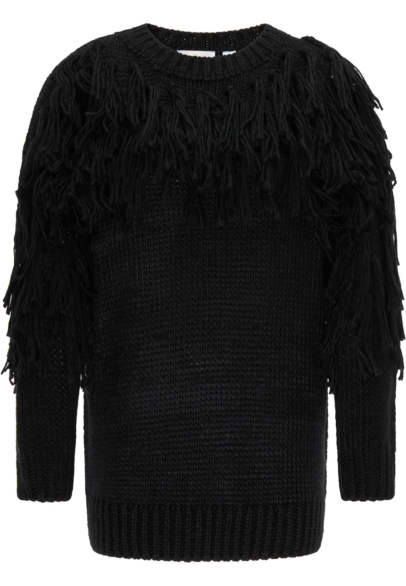 usha FESTIVAL Megztinis juoda