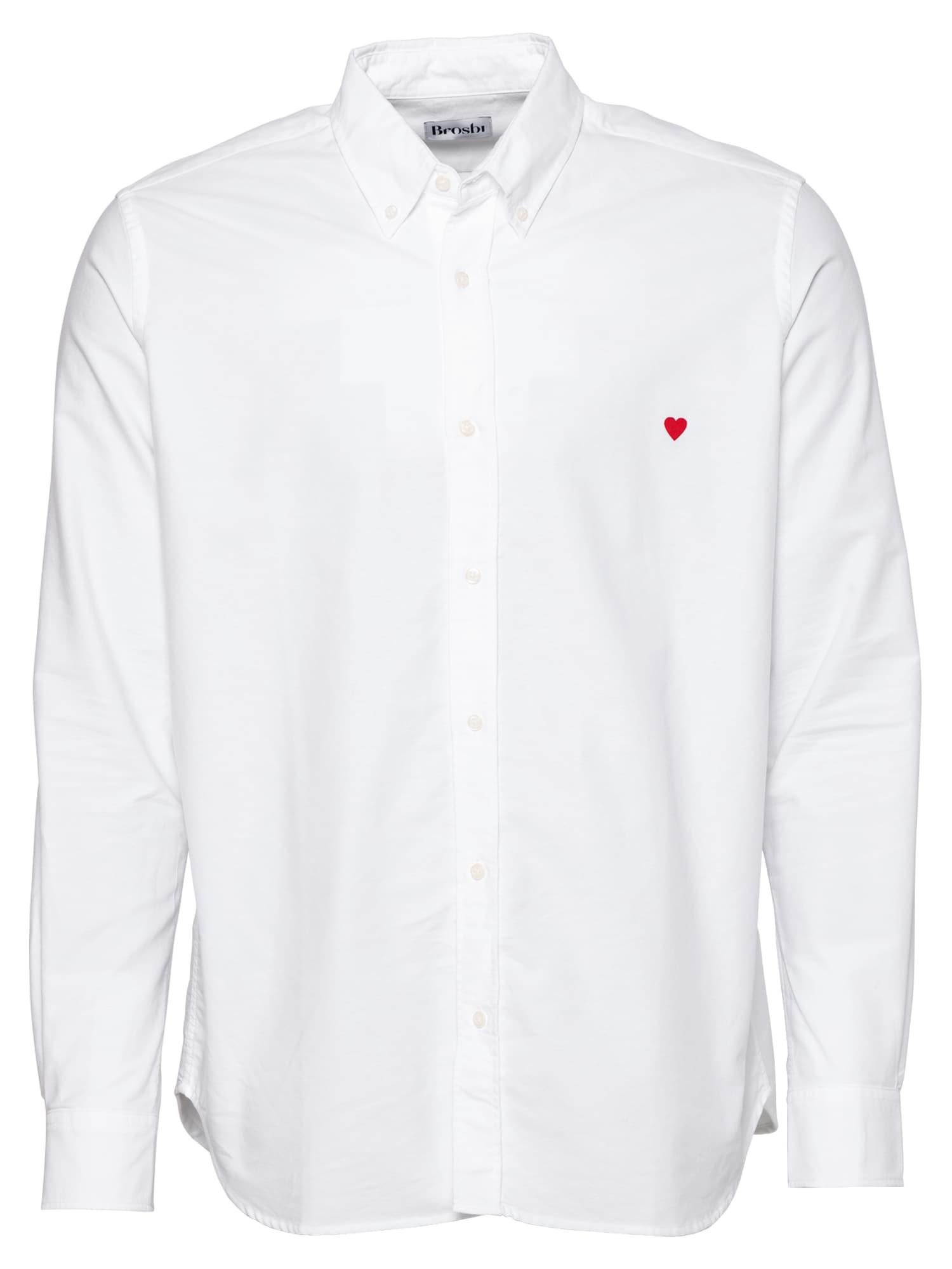 Brosbi Marškiniai balta