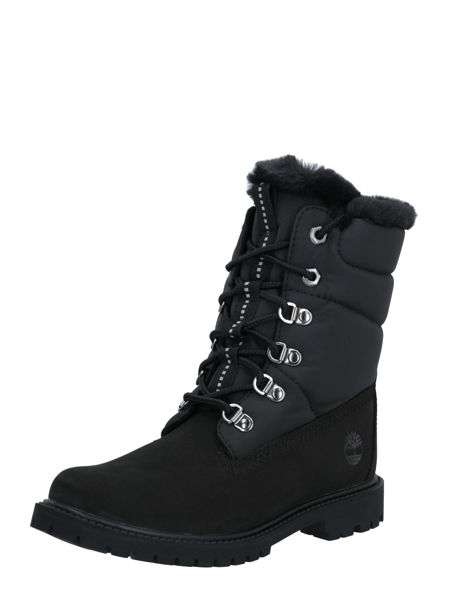 TIMBERLAND Auliniai batai juoda