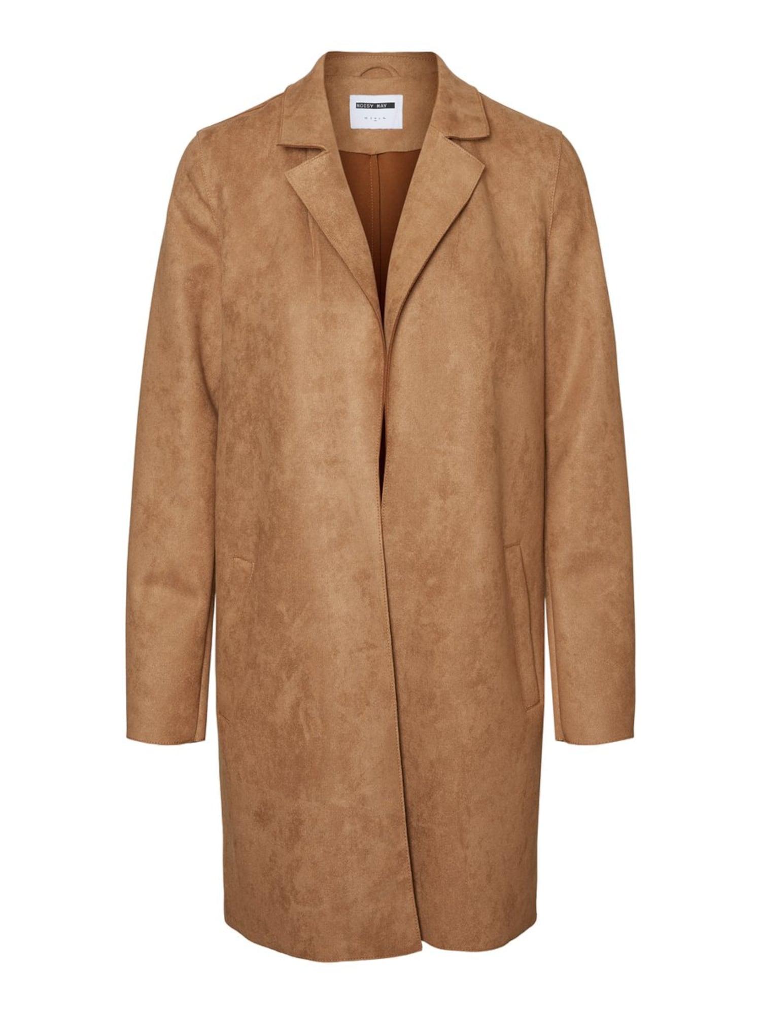 Noisy may Přechodný kabát 'SUE'  světle hnědá