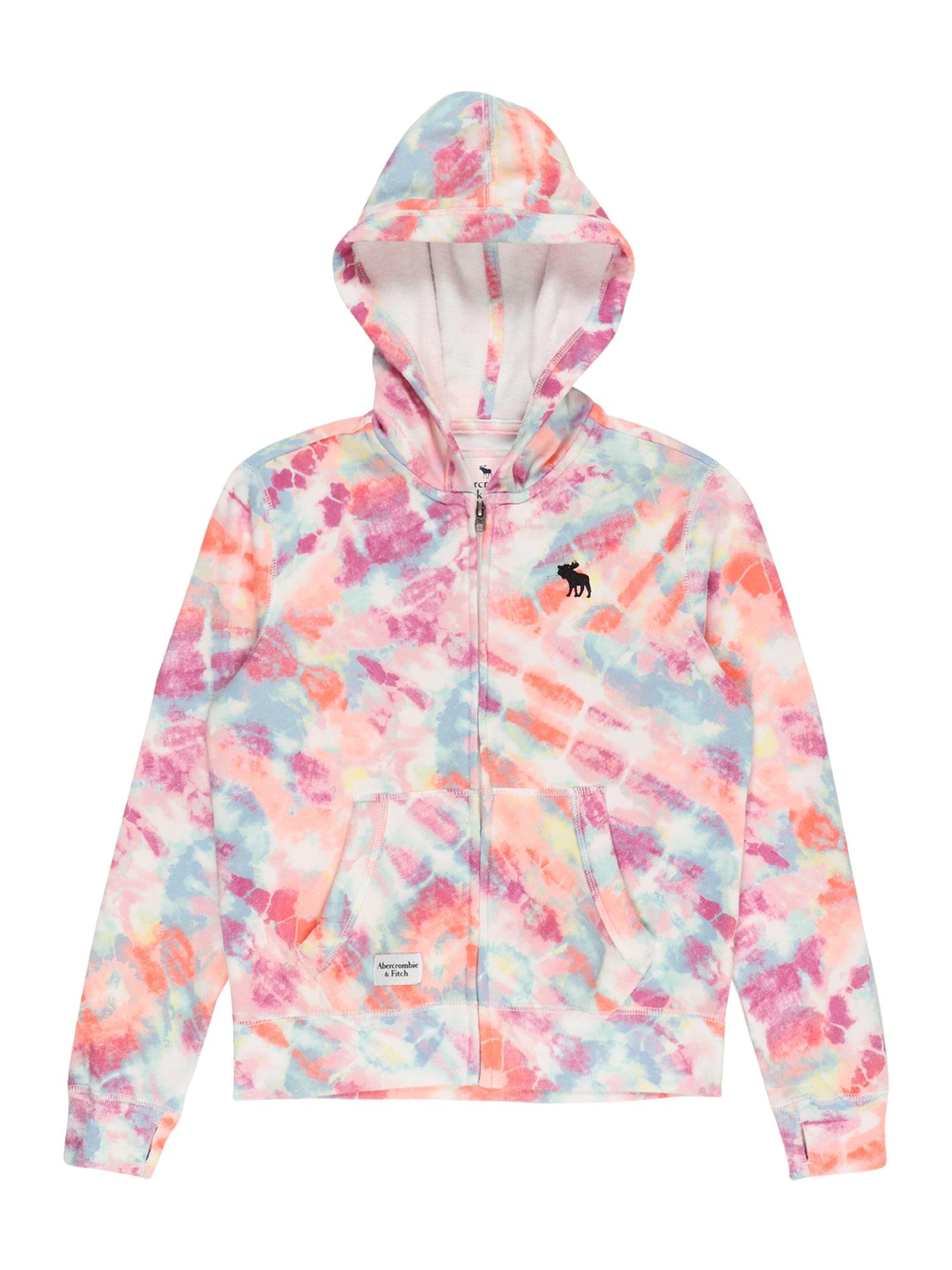 Abercrombie & Fitch Flisinis džemperis mišrios spalvos