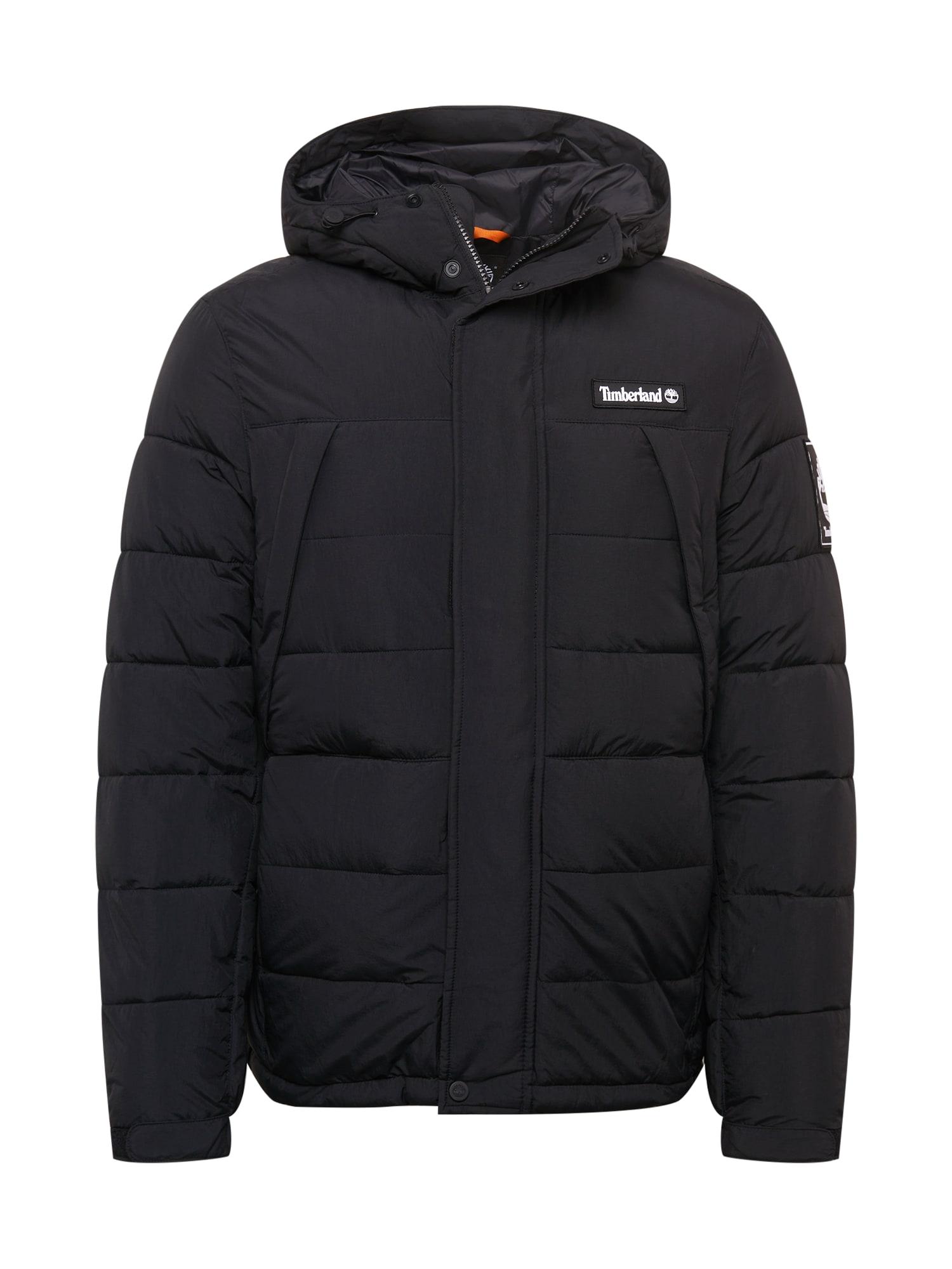 TIMBERLAND Zimní bunda  černá
