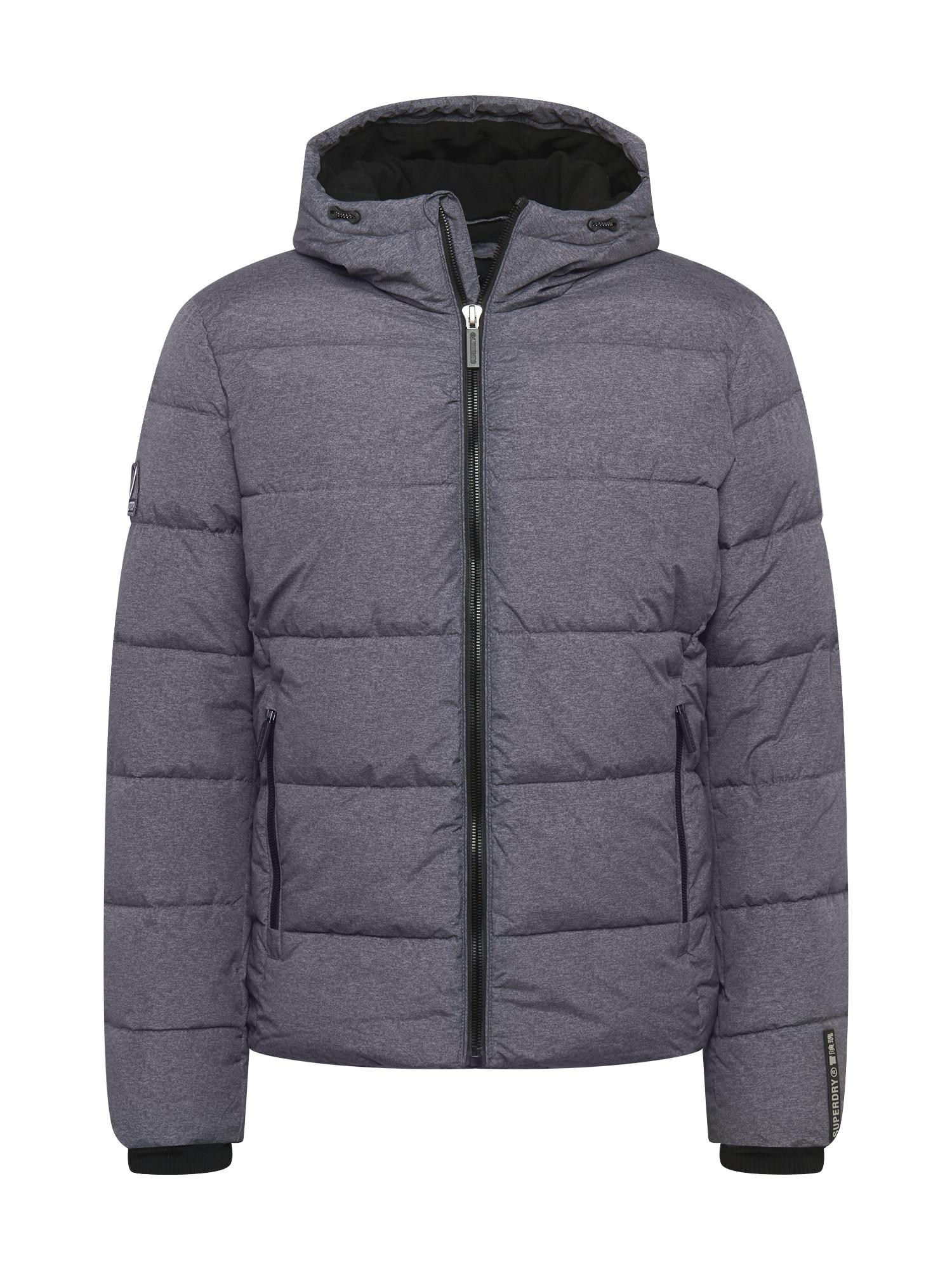 Superdry Zimní bunda  šedá