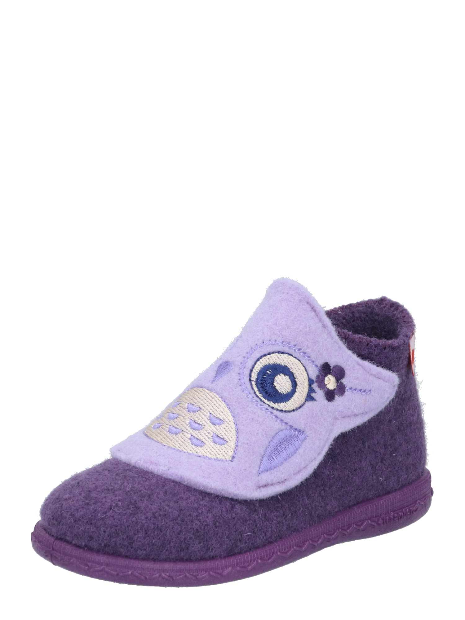 ELEFANTEN Naminės šlepetės 'Pippa' uogų spalva / rausvai violetinė spalva / tamsiai mėlyna / perlų balta