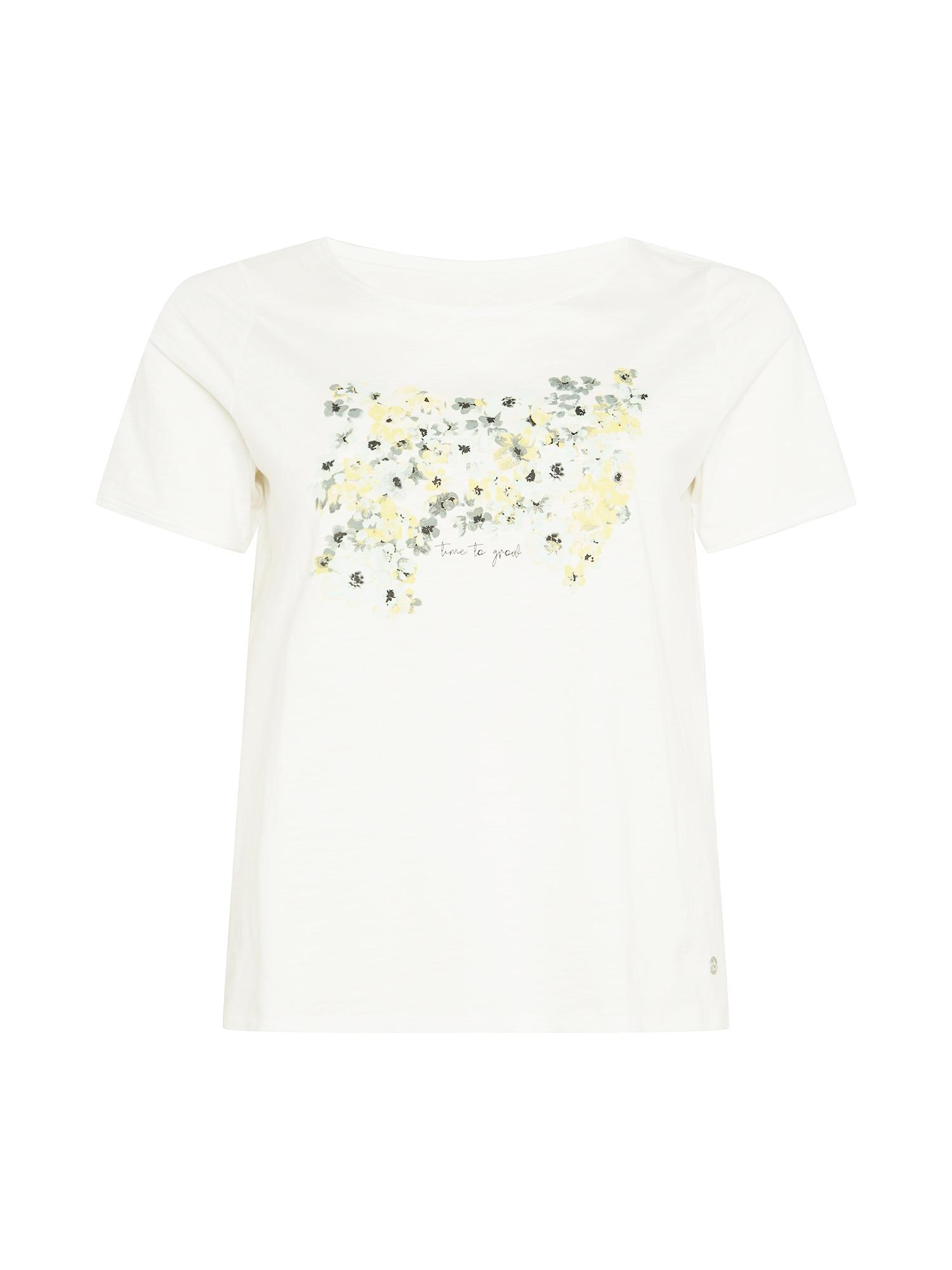 MY TRUE ME Marškinėliai balta / geltona / žalia