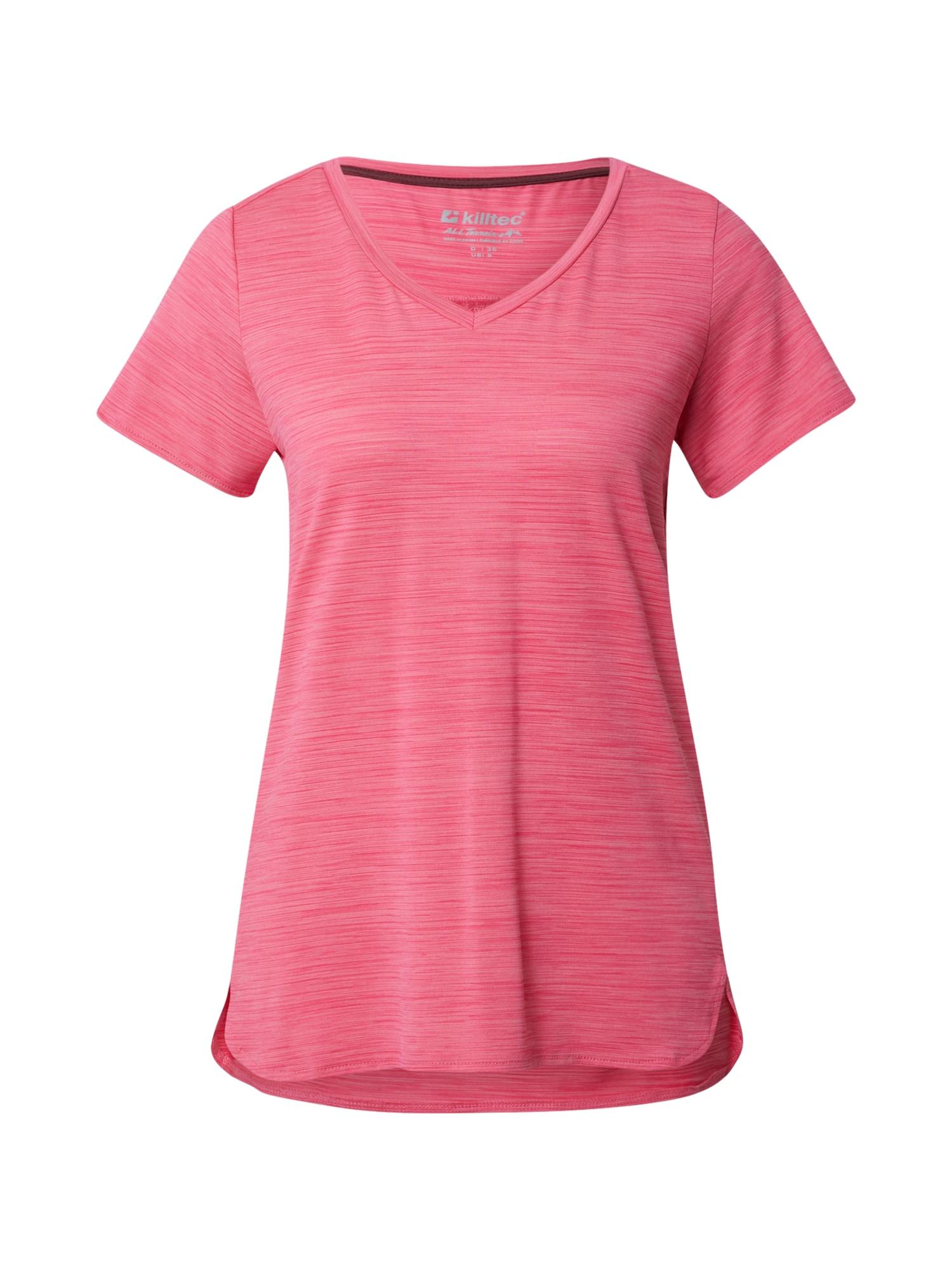 KILLTEC Sportiniai marškinėliai rožinė