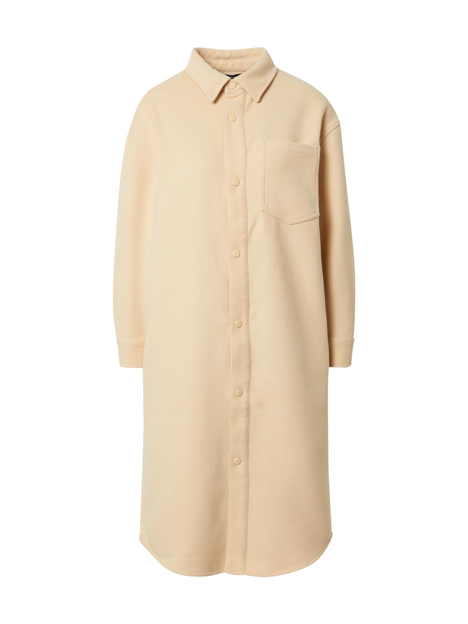 NU-IN Demisezoninis paltas smėlio