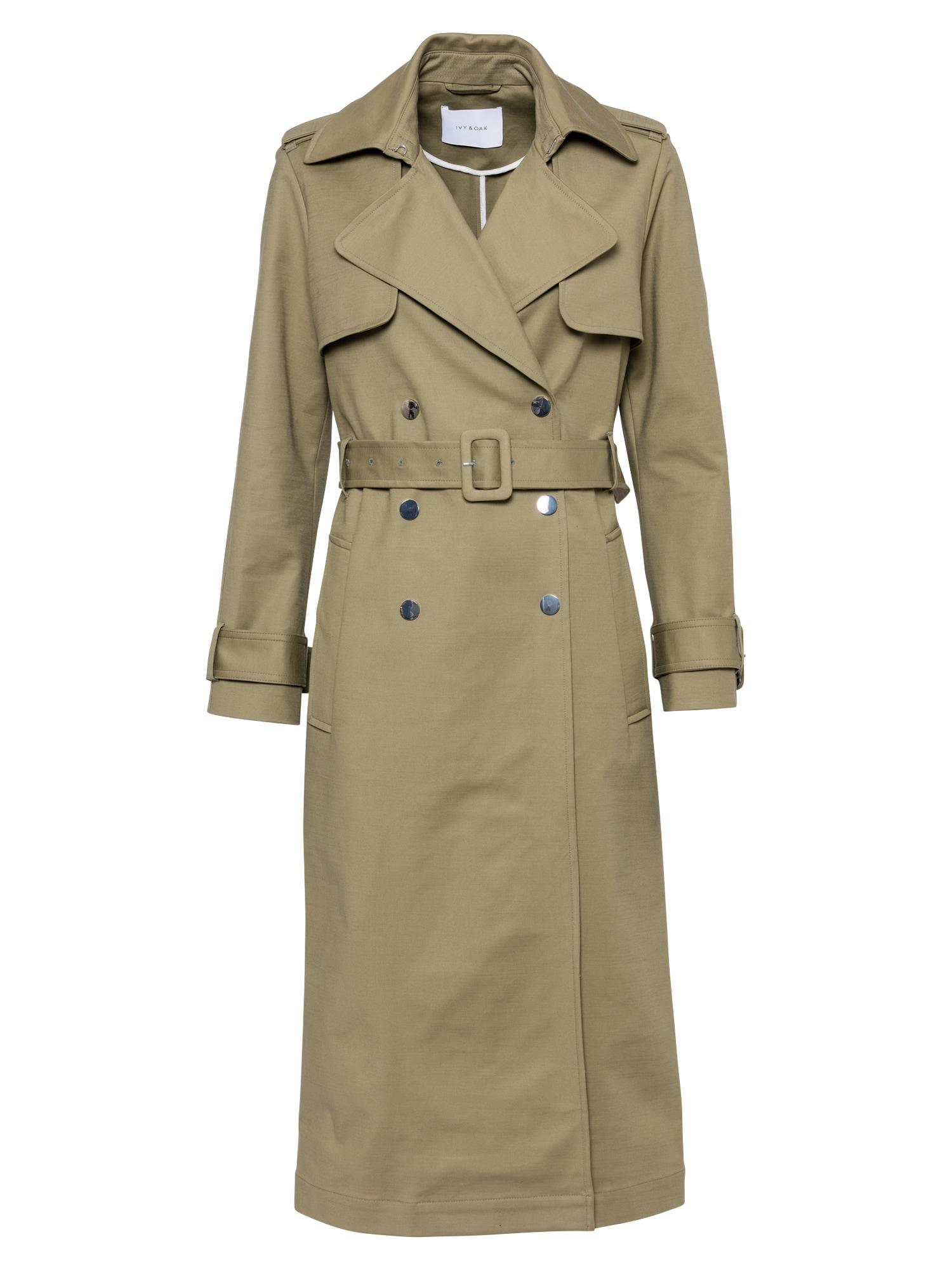 IVY & OAK Demisezoninis paltas alyvuogių spalva