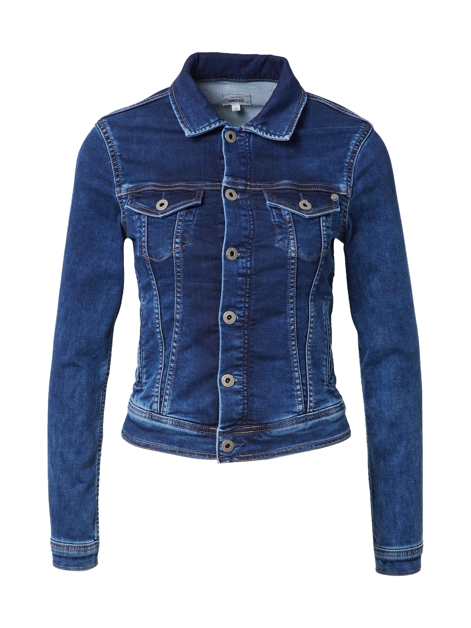 Pepe Jeans Demisezoninė striukė tamsiai (džinso) mėlyna