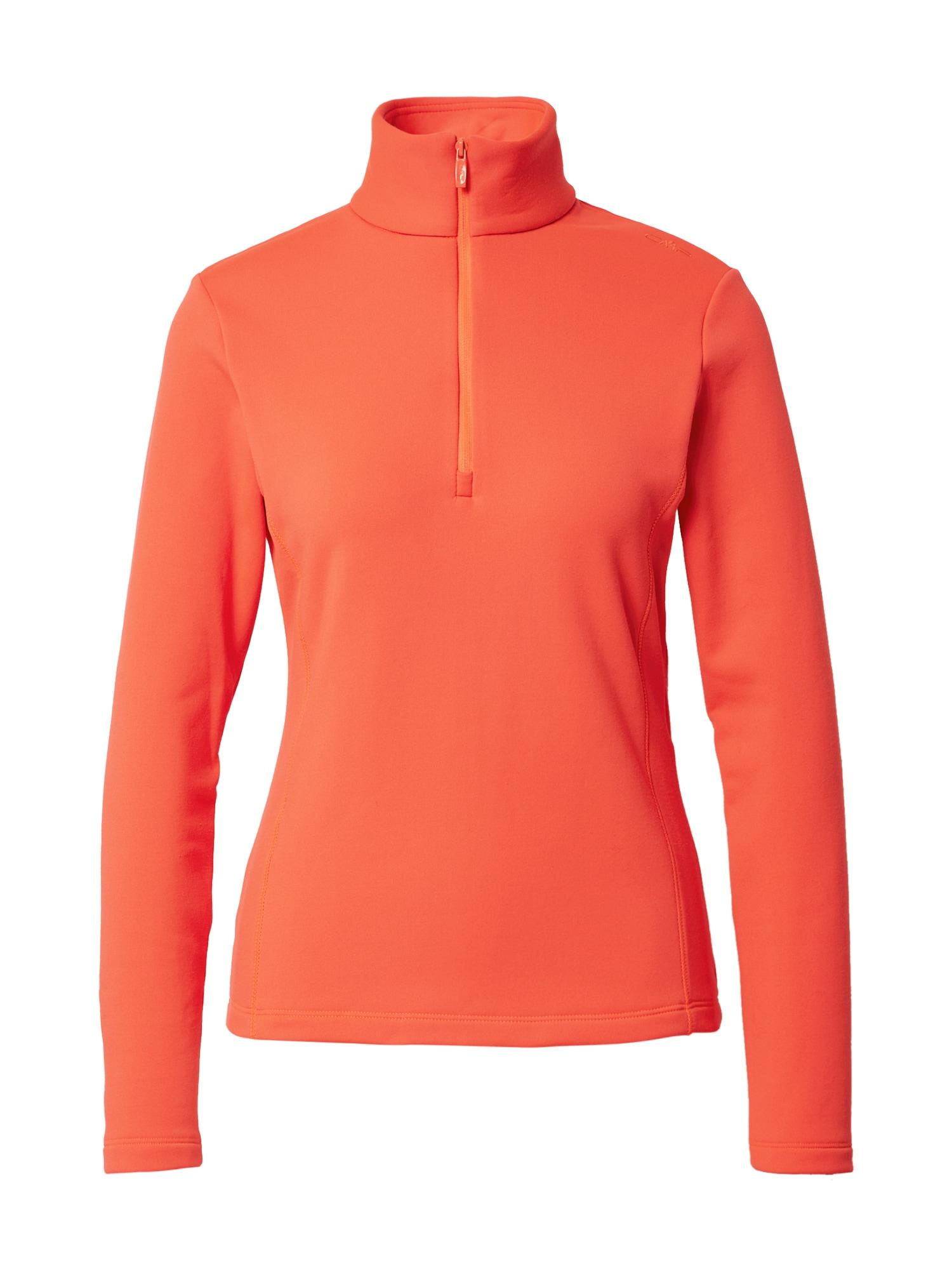 CMP Sportovní mikina  oranžově červená
