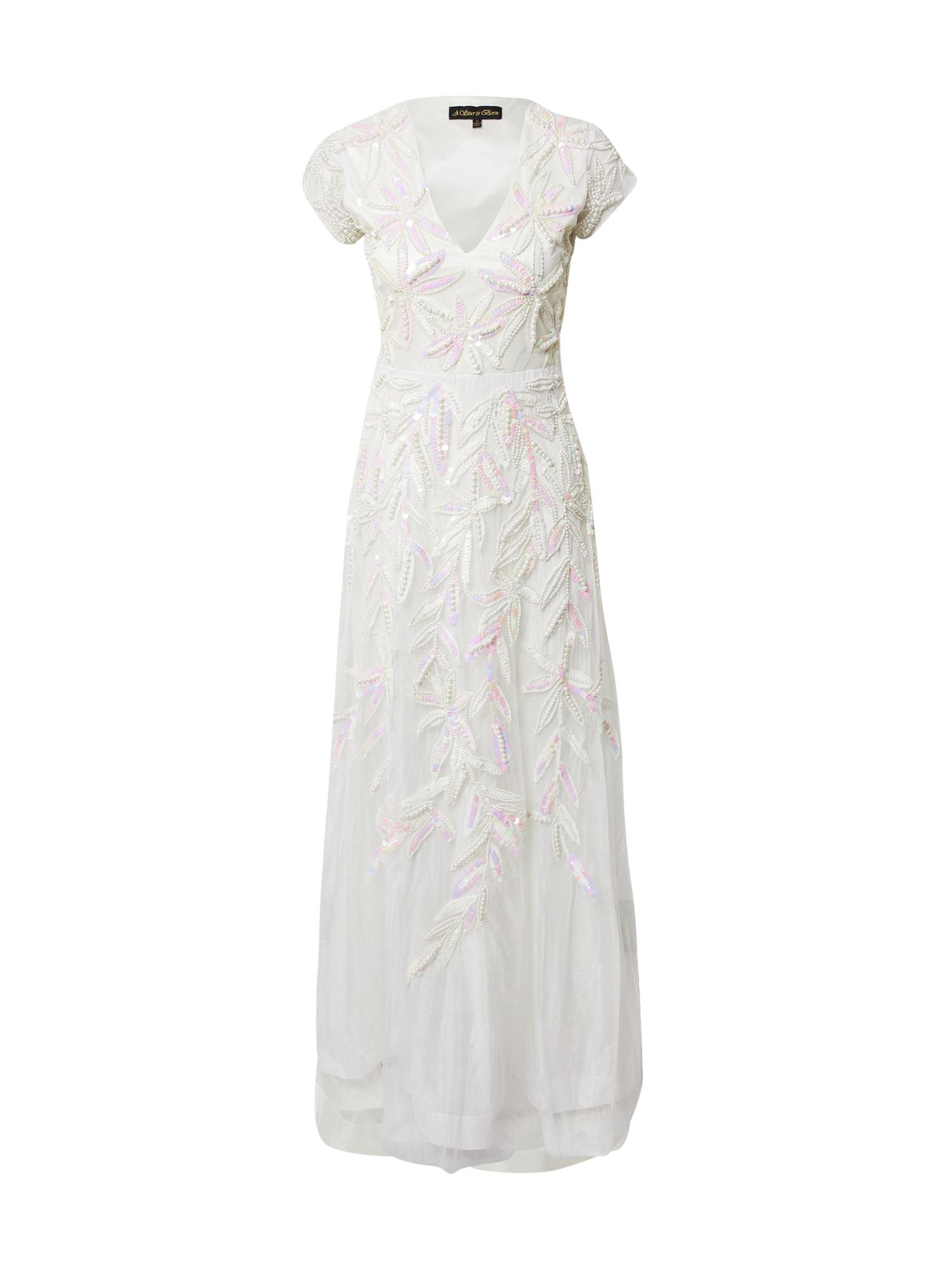 A STAR IS BORN Vakarinė suknelė balta / rožių spalva