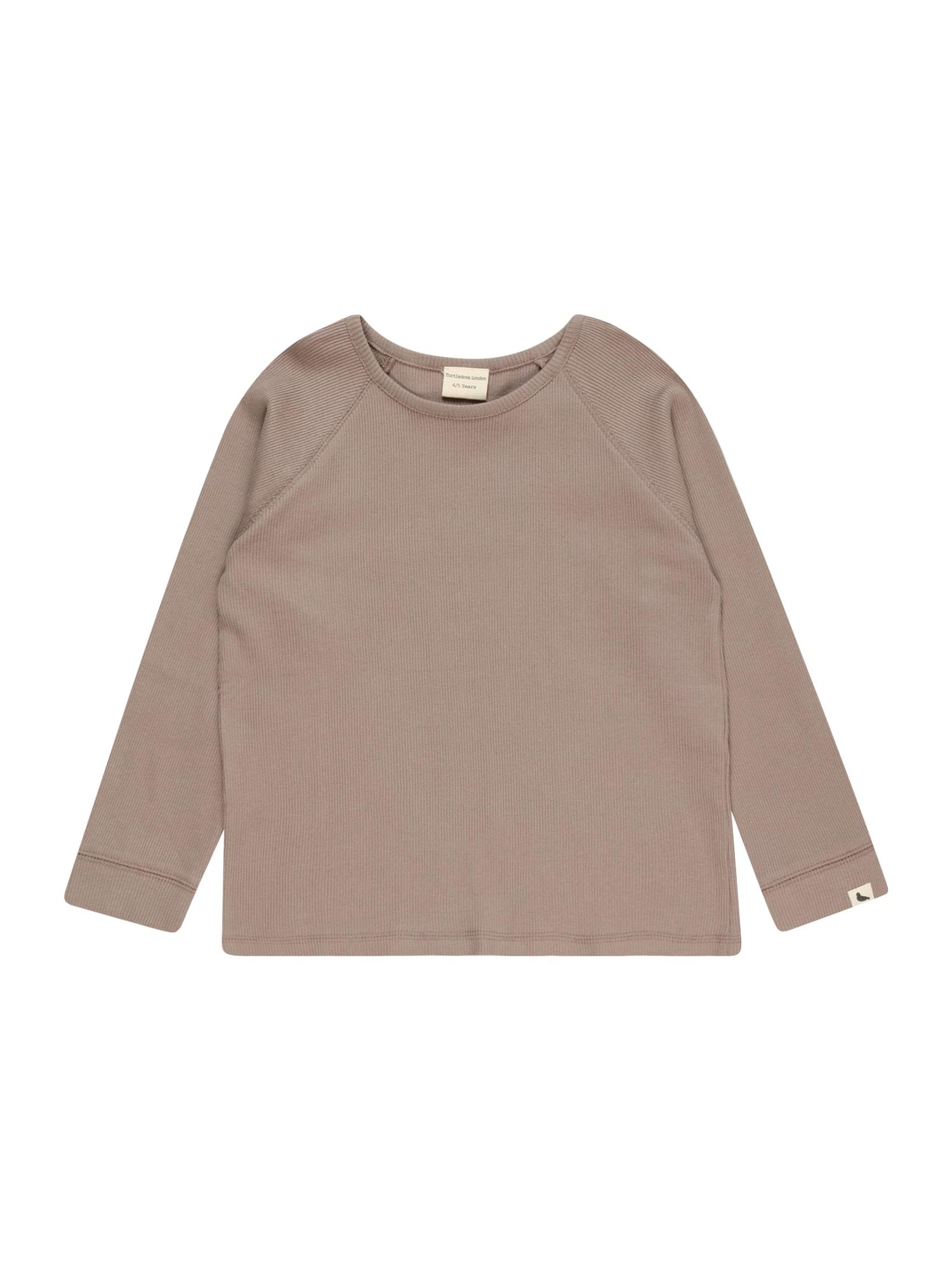 Turtledove London Marškinėliai rusvai pilka