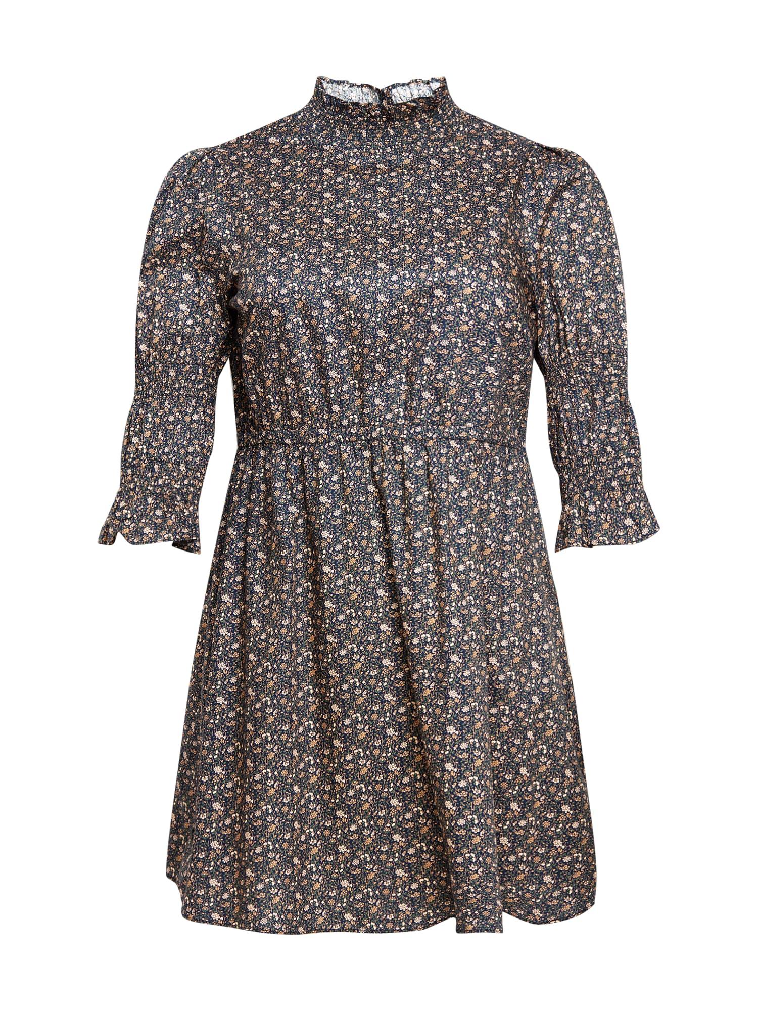 GLAMOROUS CURVE Suknelė mišrios spalvos