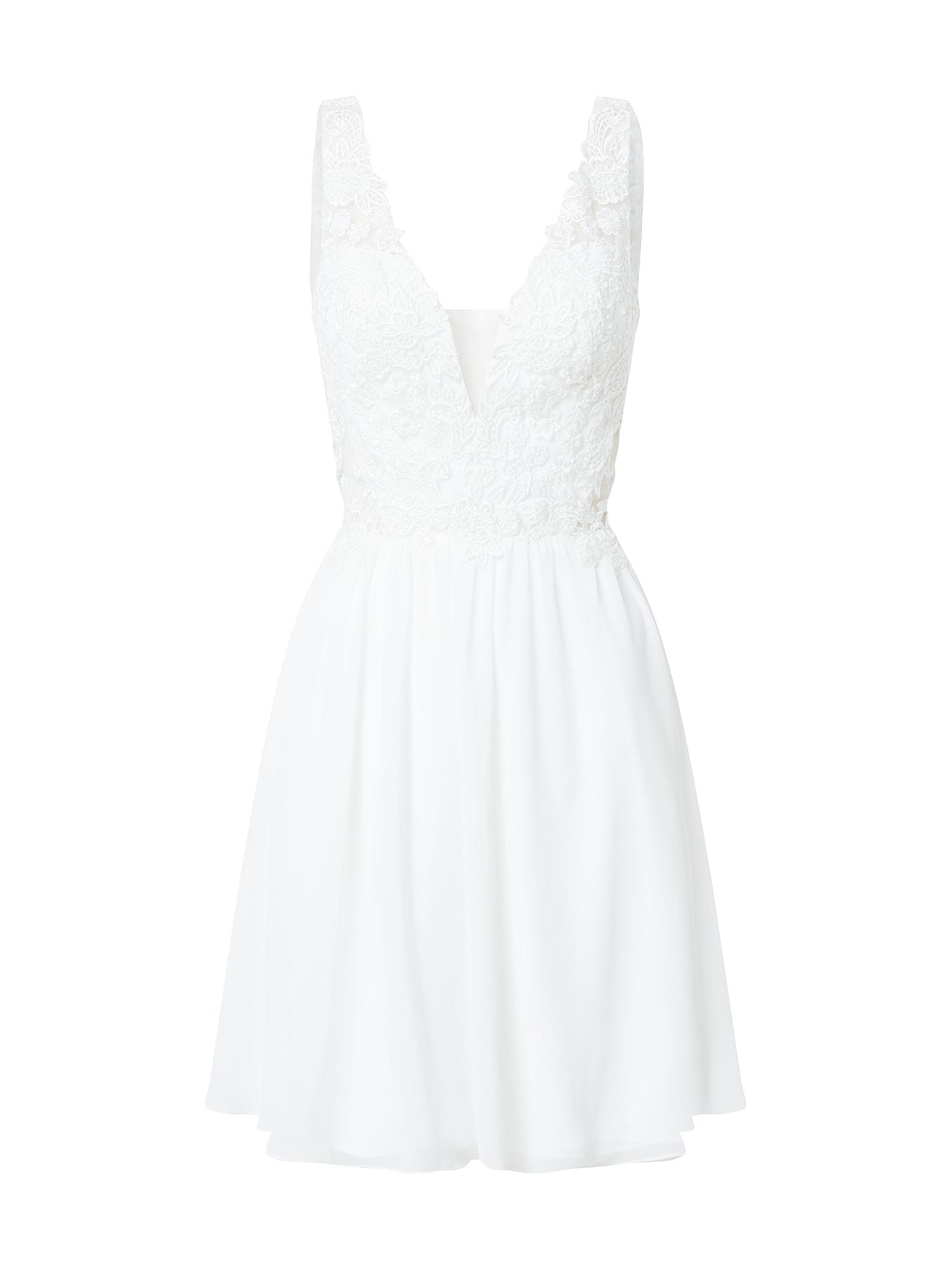 Laona Kokteilinė suknelė balta
