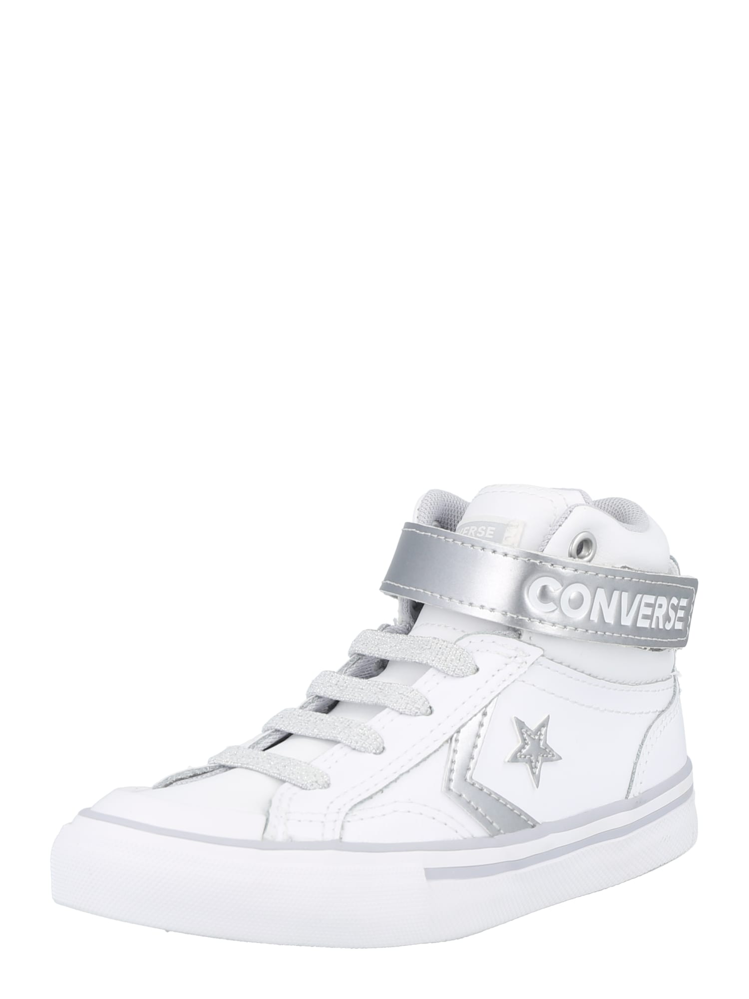 CONVERSE Sportbačiai balta / sidabrinė