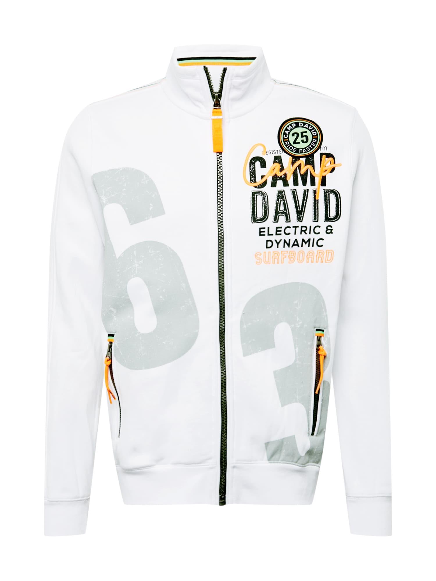 CAMP DAVID Džemperis balta