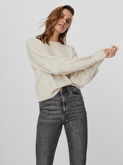 Vero Moda Ella langärmeliger Pullover mit Zopfmuster