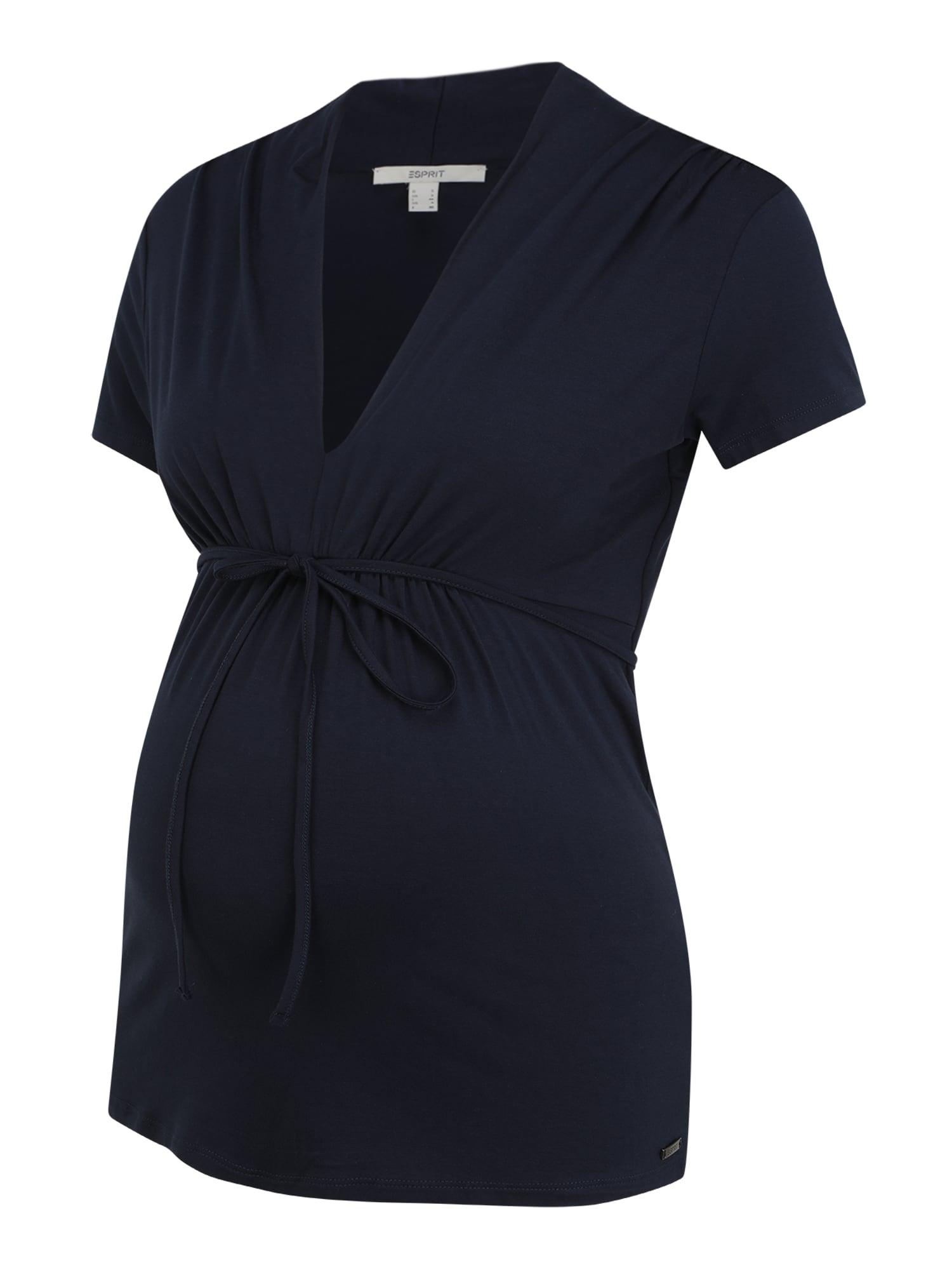 Esprit Maternity Marškinėliai tamsiai mėlyna jūros spalva