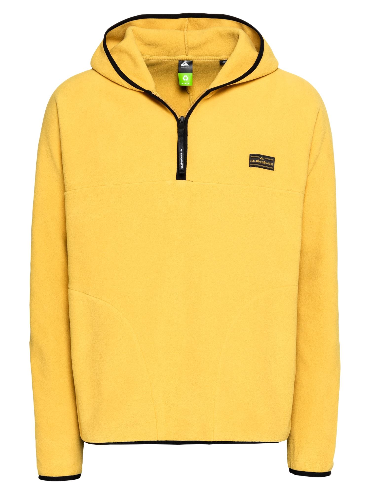 QUIKSILVER Sportinis megztinis garstyčių spalva / juoda