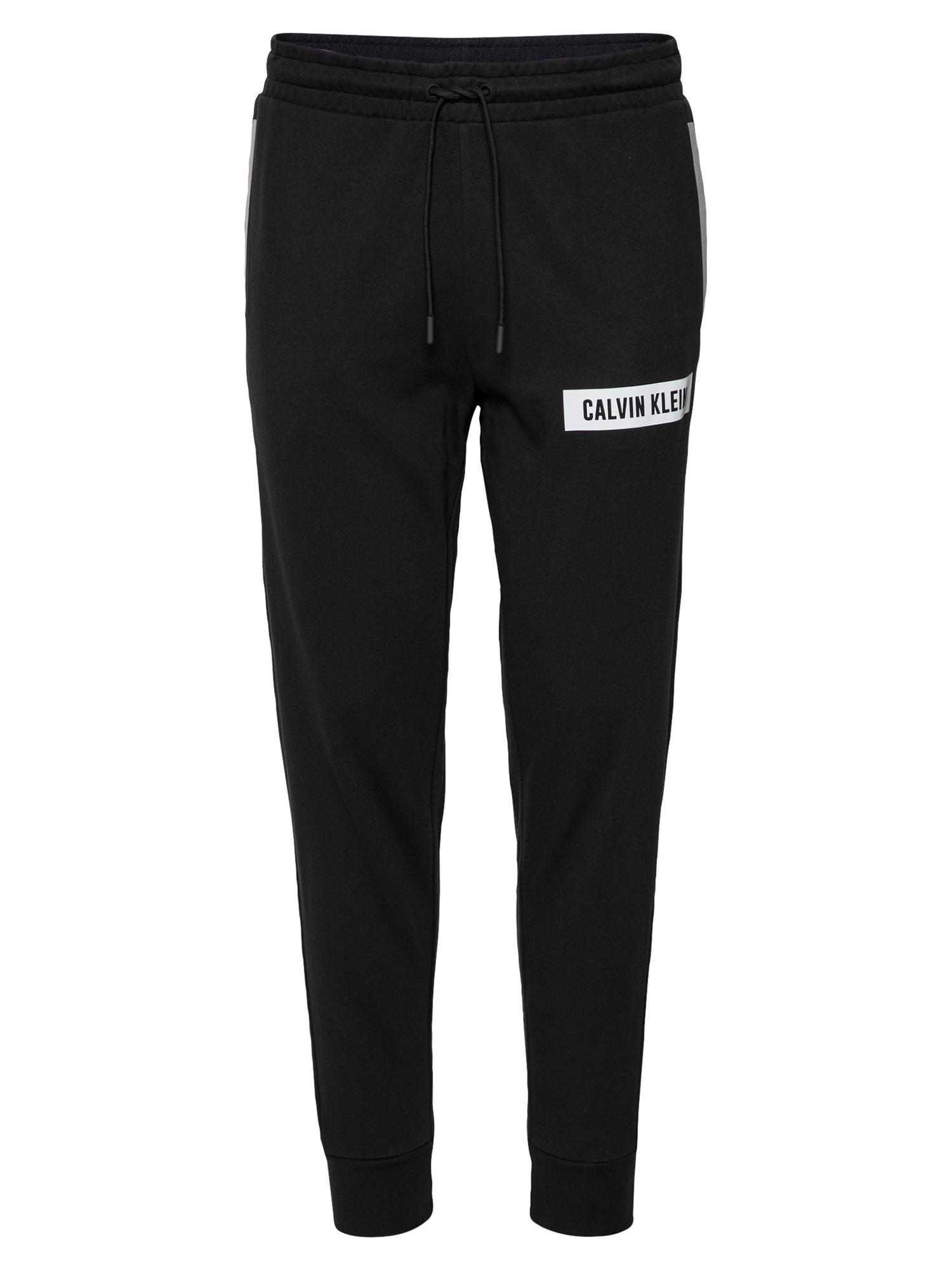 Calvin Klein Performance Sportovní kalhoty  černá
