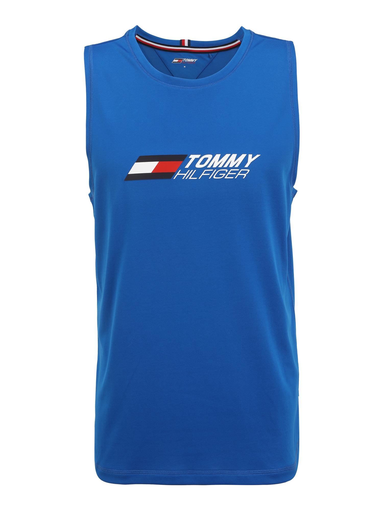 "Tommy Sport Sportiniai marškinėliai sodri mėlyna (""karališka"") / balta / raudona / nakties mėlyna"