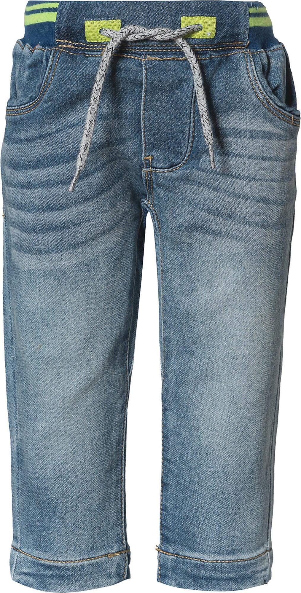 STACCATO Džinsai tamsiai (džinso) mėlyna / obuolių spalva