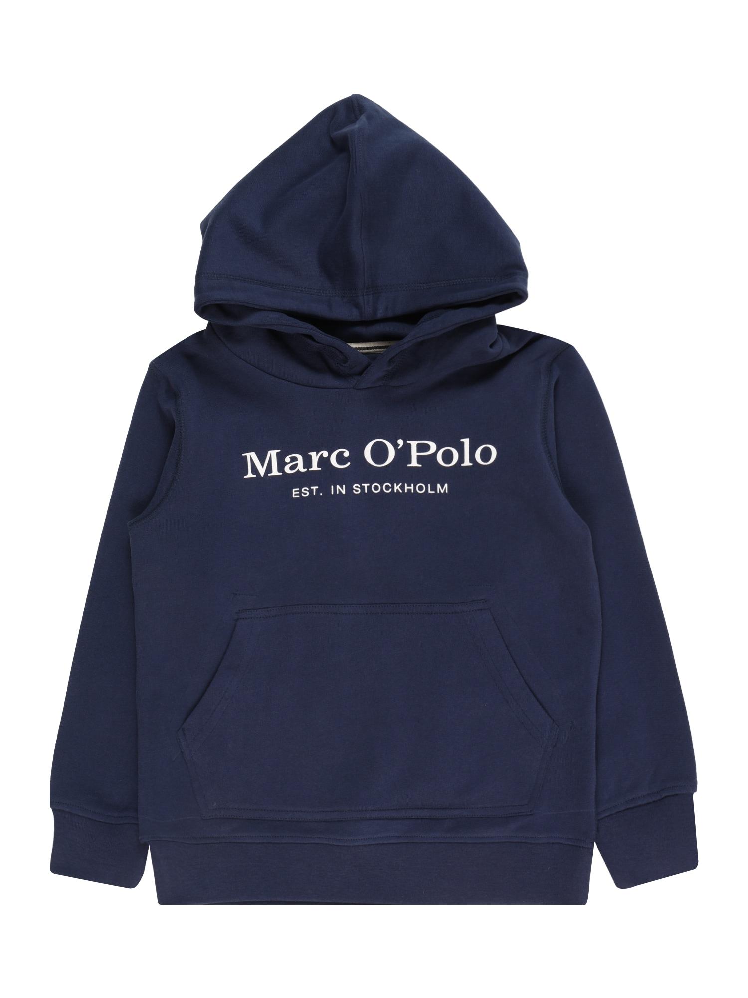 Marc O'Polo Junior Mikina  modrá