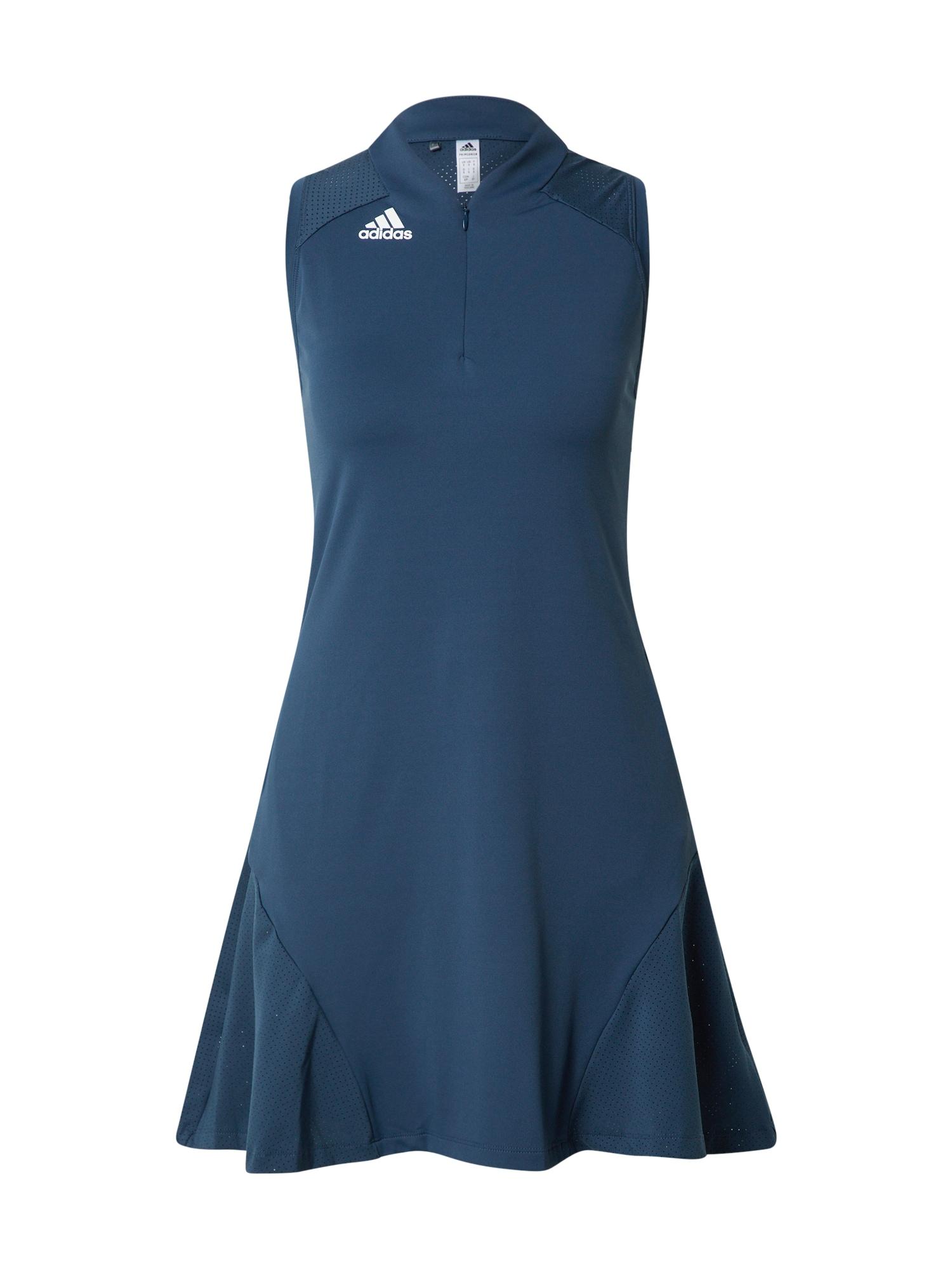 adidas Golf Sportinė suknelė tamsiai mėlyna / balta