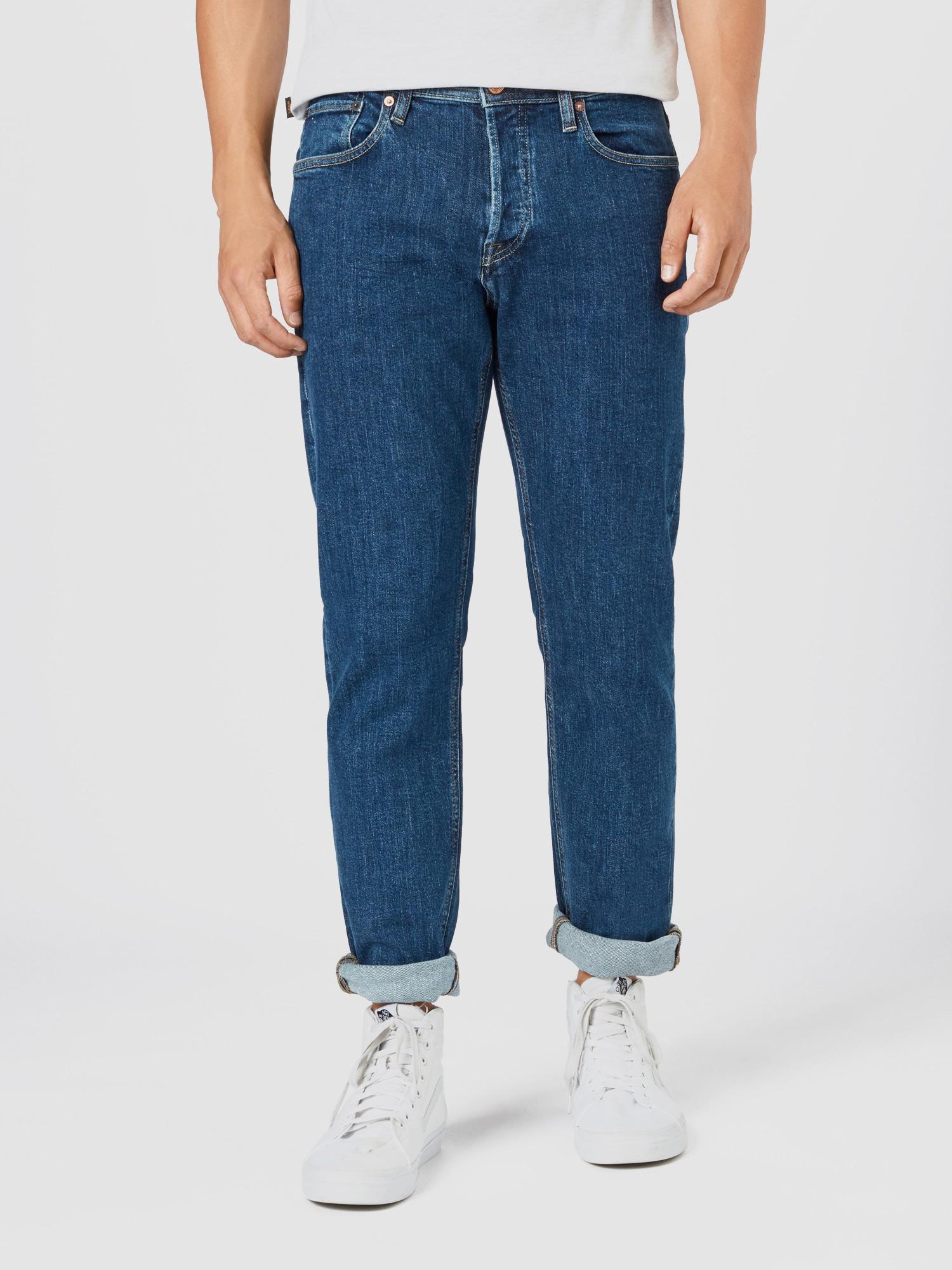 JACK & JONES Jeans 'JJIMIKE'  blå denim
