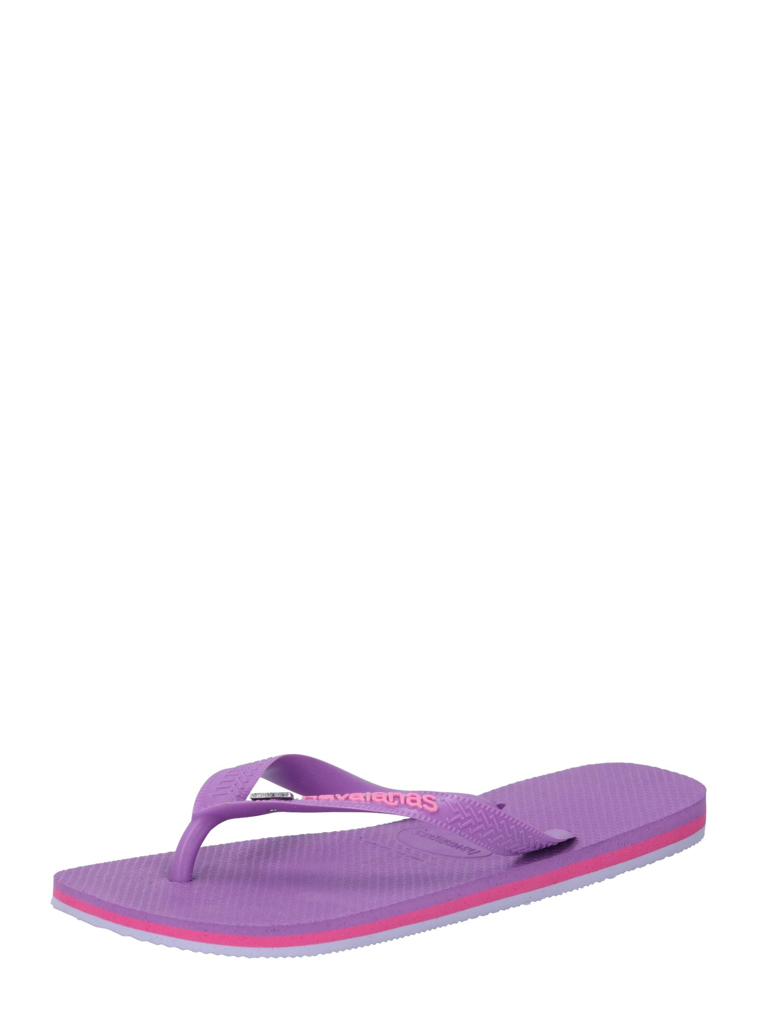 HAVAIANAS Šlepetės per pirštą purpurinė / rožių spalva