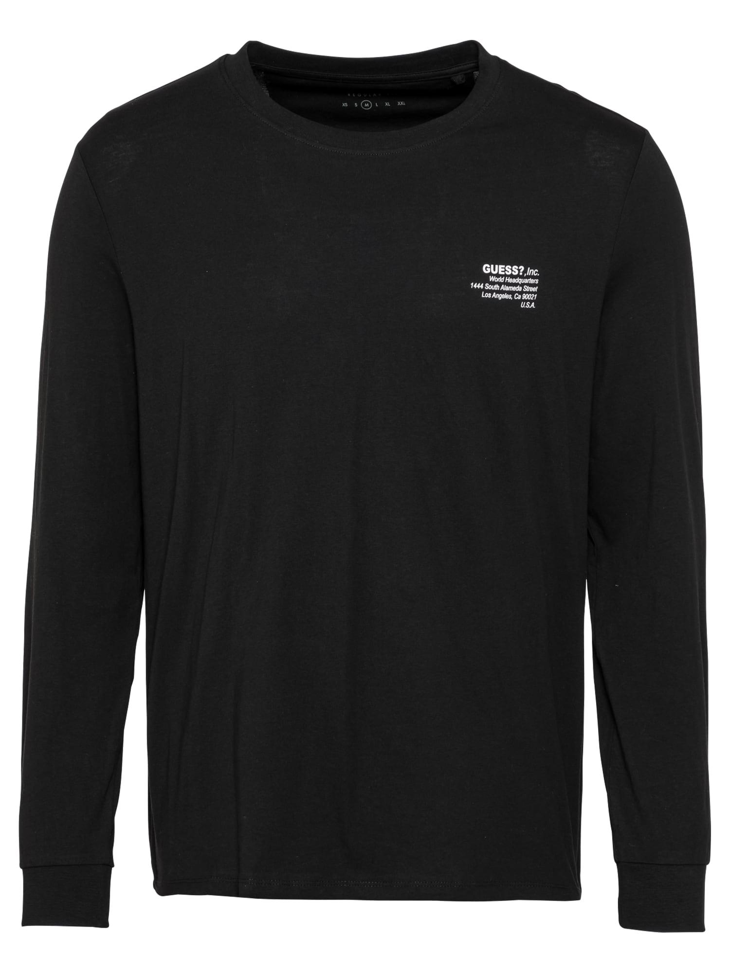 GUESS Marškinėliai juoda