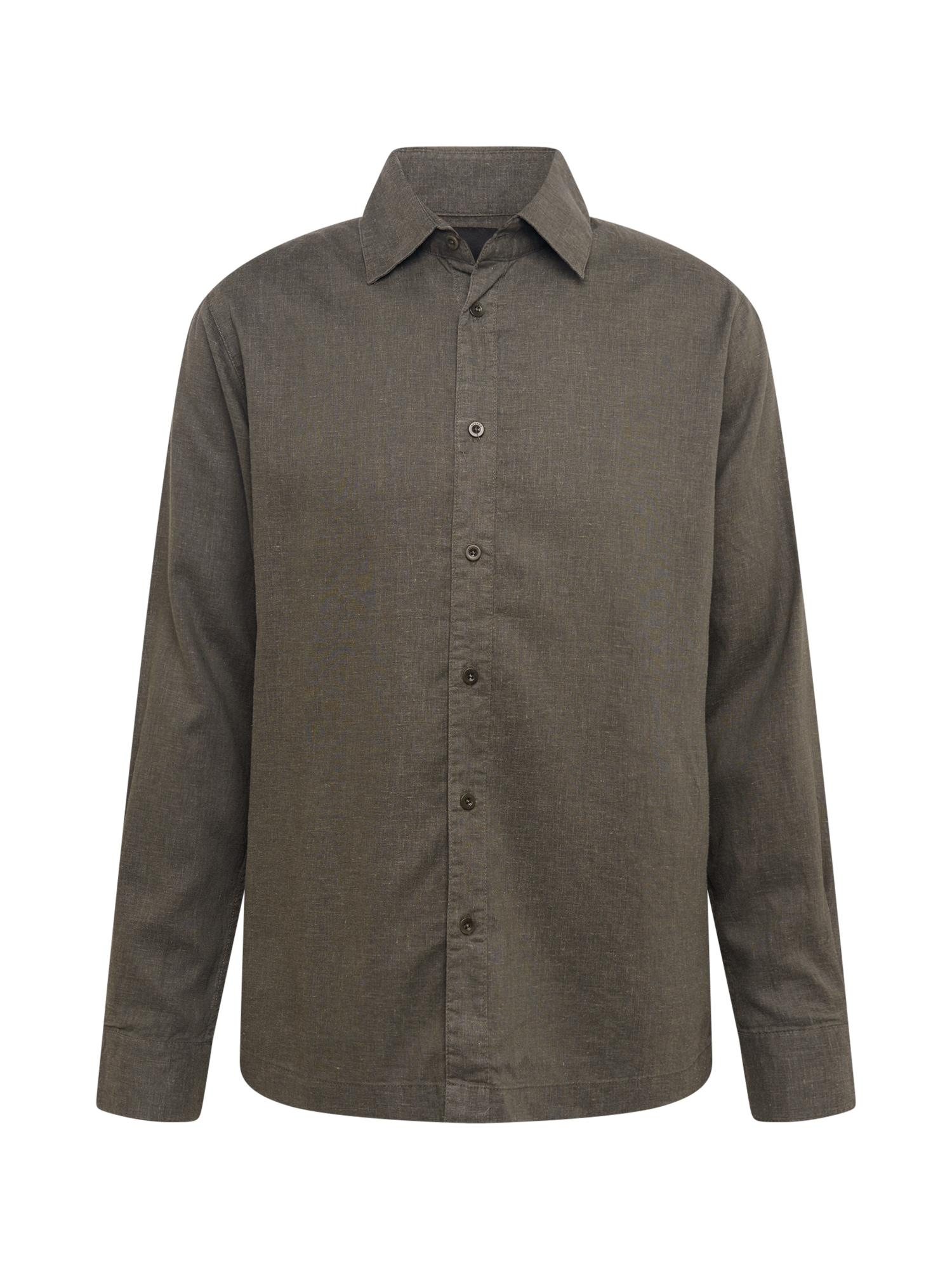 Afends Marškiniai tamsiai pilka