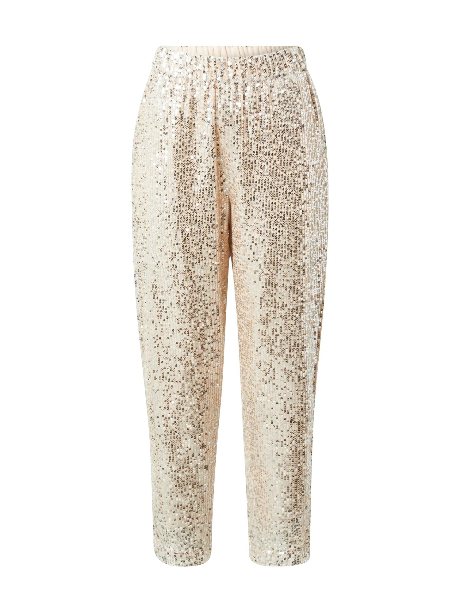 SELECTED FEMME Kalhoty  zlatá