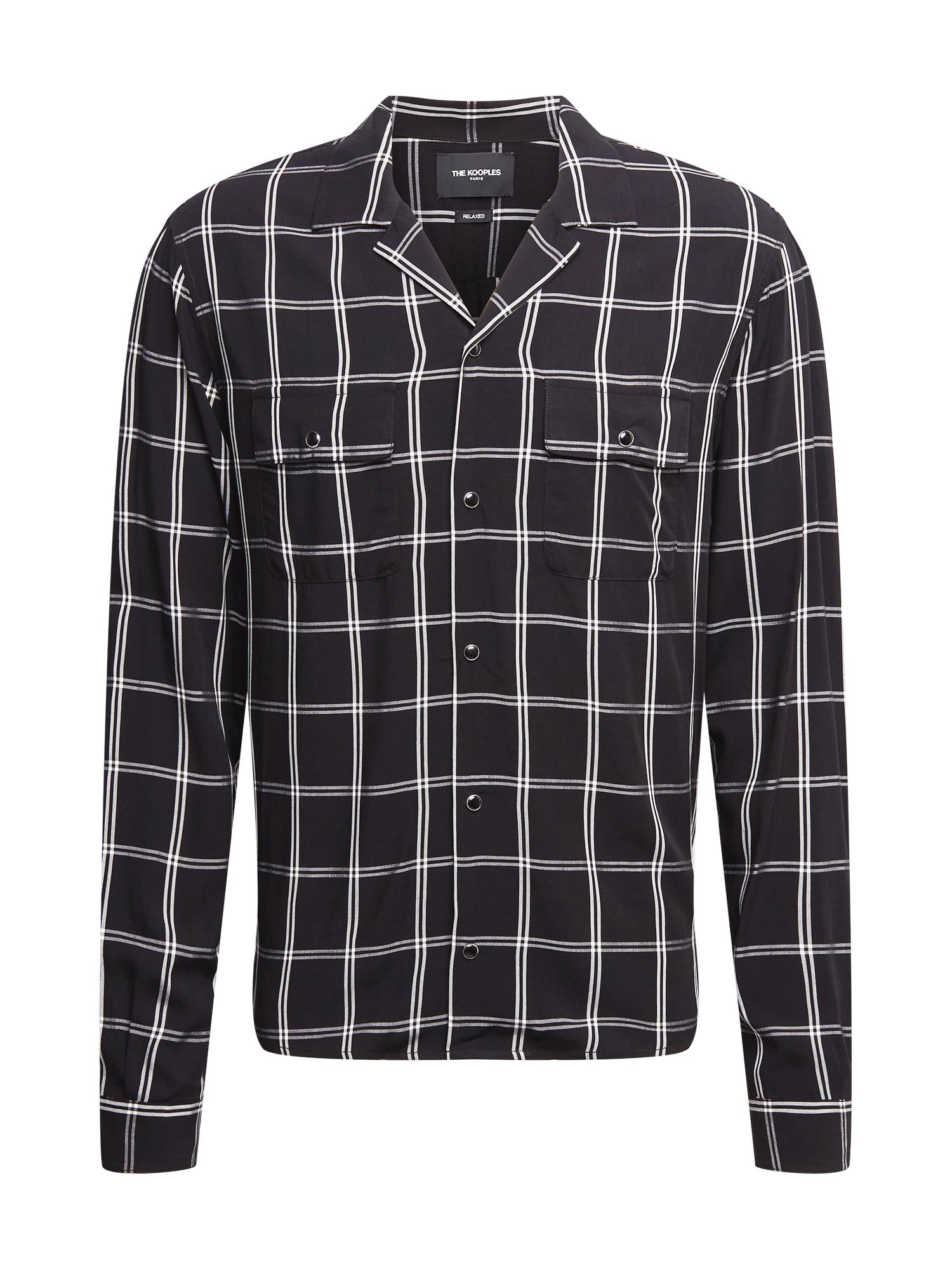 The Kooples Marškiniai balta / juoda