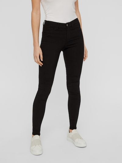 Pieces Skin Wear Jeggings mit normaler Taille