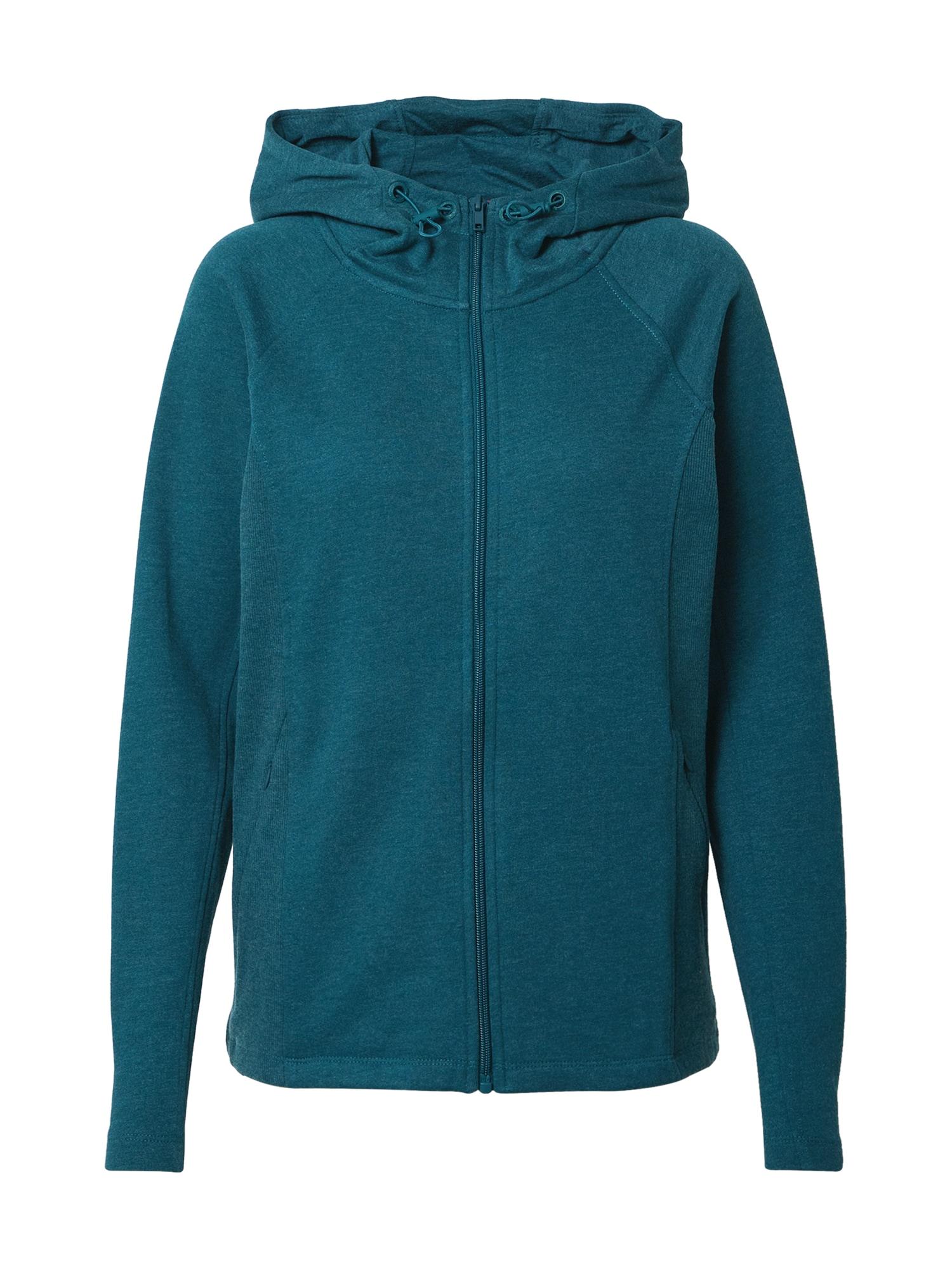 ESPRIT SPORT Sportinis džemperis žalsvai mėlyna