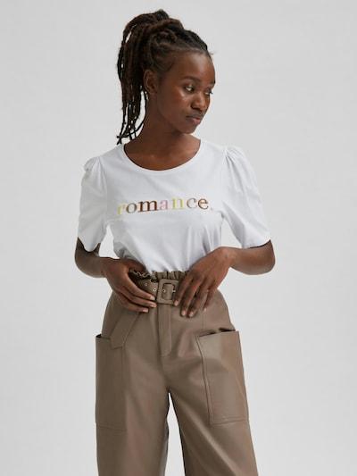 Selected Femme Romance Besticktes T-Shirt